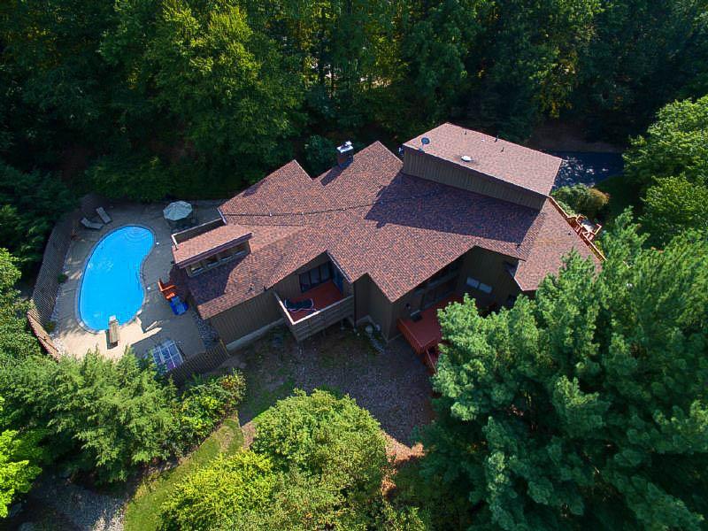 Property For Sale at Sprawling Cedar Contemporary Home