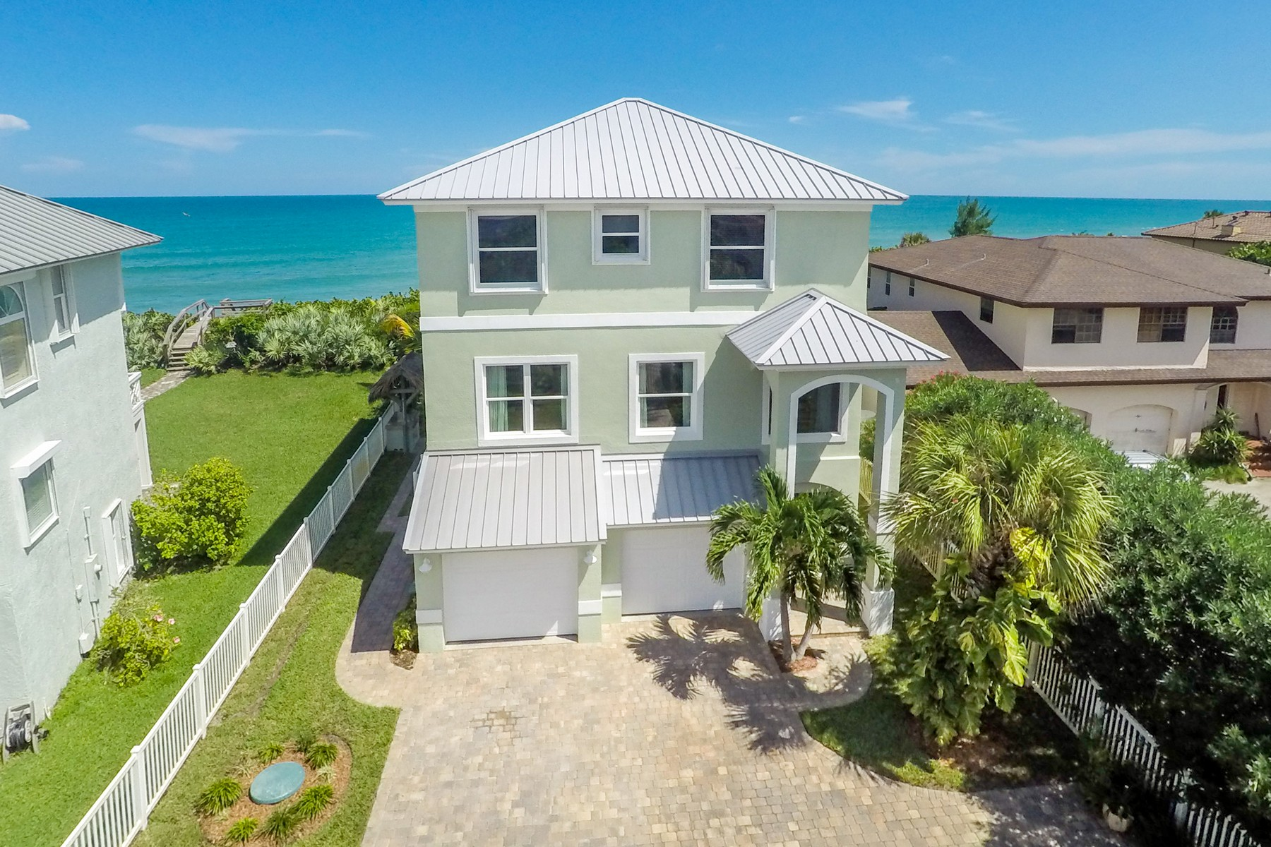 Single Family Home for Sale at 5095 Highway A1A Melbourne Beach, Florida, 32951 United States