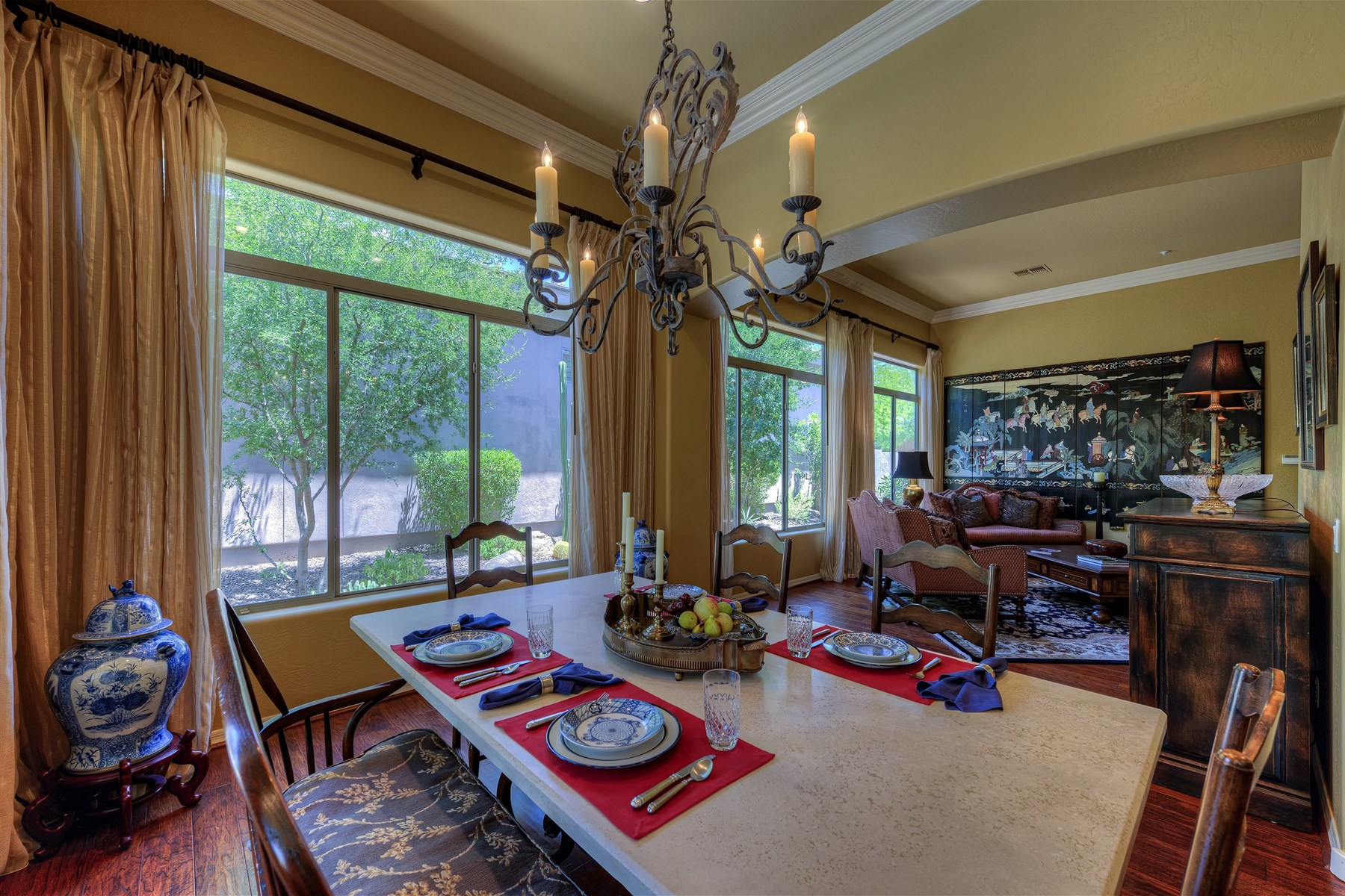 sales property at Monterey home in the guard gated talon retreat at Grayhawk