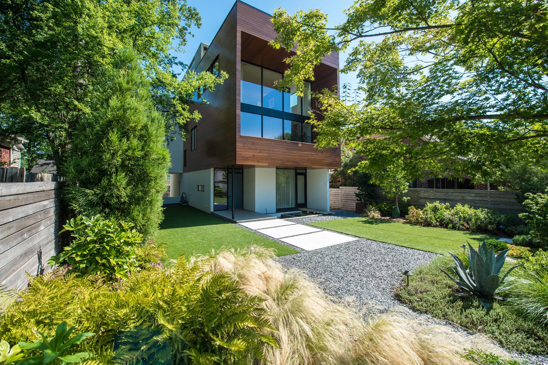 Casa Unifamiliar por un Venta en Stunning Modern Dream Home Built To The Highest Level Of Construction 1020 Bellevue Drive NE Virginia Highland, Atlanta, Georgia 30306 Estados Unidos