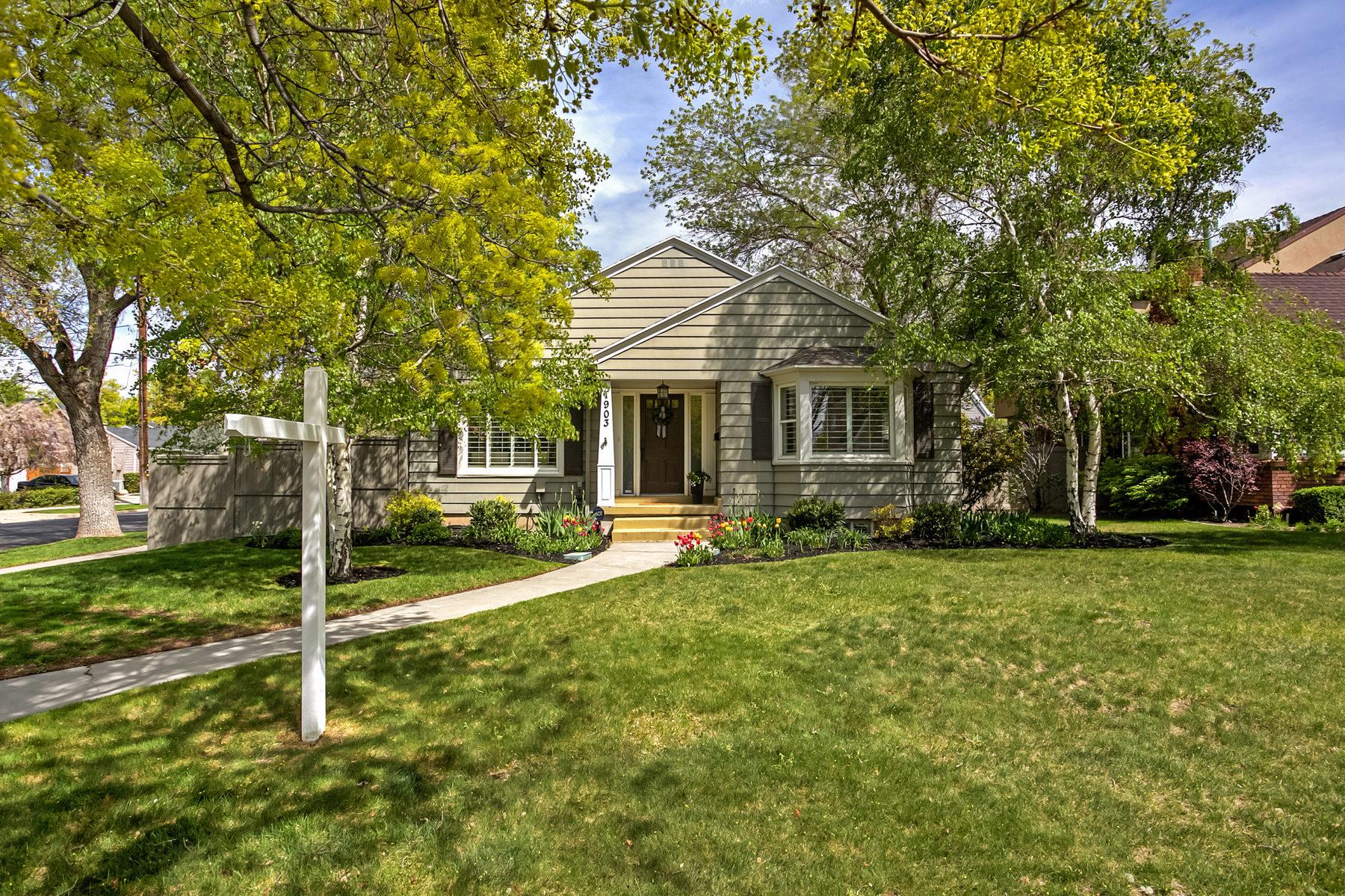 Частный односемейный дом для того Продажа на Harvard/Yale Charmer 1903 E Herbert Ave Salt Lake City, Юта, 84108 Соединенные Штаты
