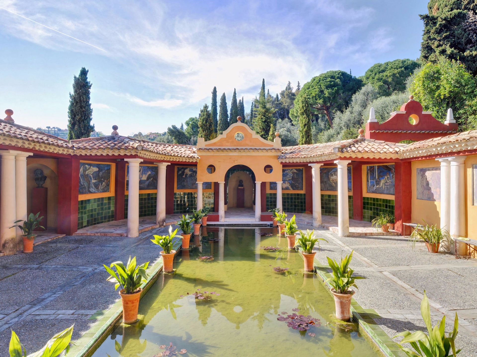 Single Family Home for Sale at Sumptuous florentine villa Other France, Other Areas In France, 06500 France
