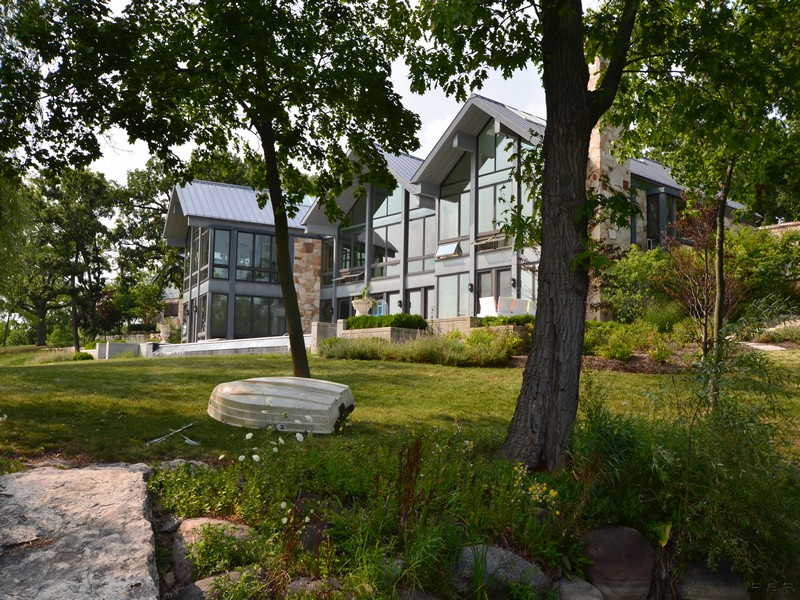단독 가정 주택 용 매매 에 Extraordinary Property in Barrington Hills 28 Brinker Road Barrington Hills, 일리노이즈, 60010 미국