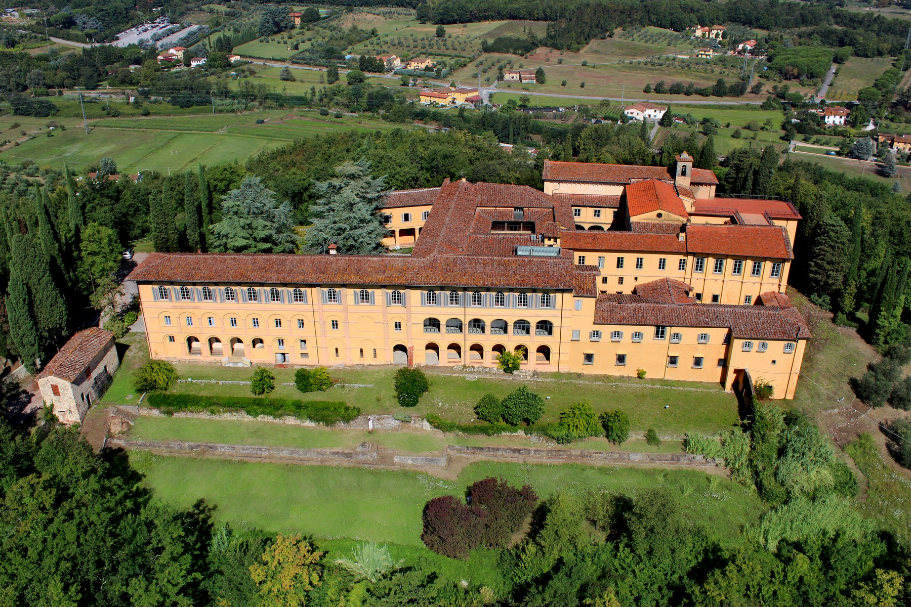 for Sale at Outstanding historic convent with lands Pistoia Pistoia, Pistoia 51100 Italy