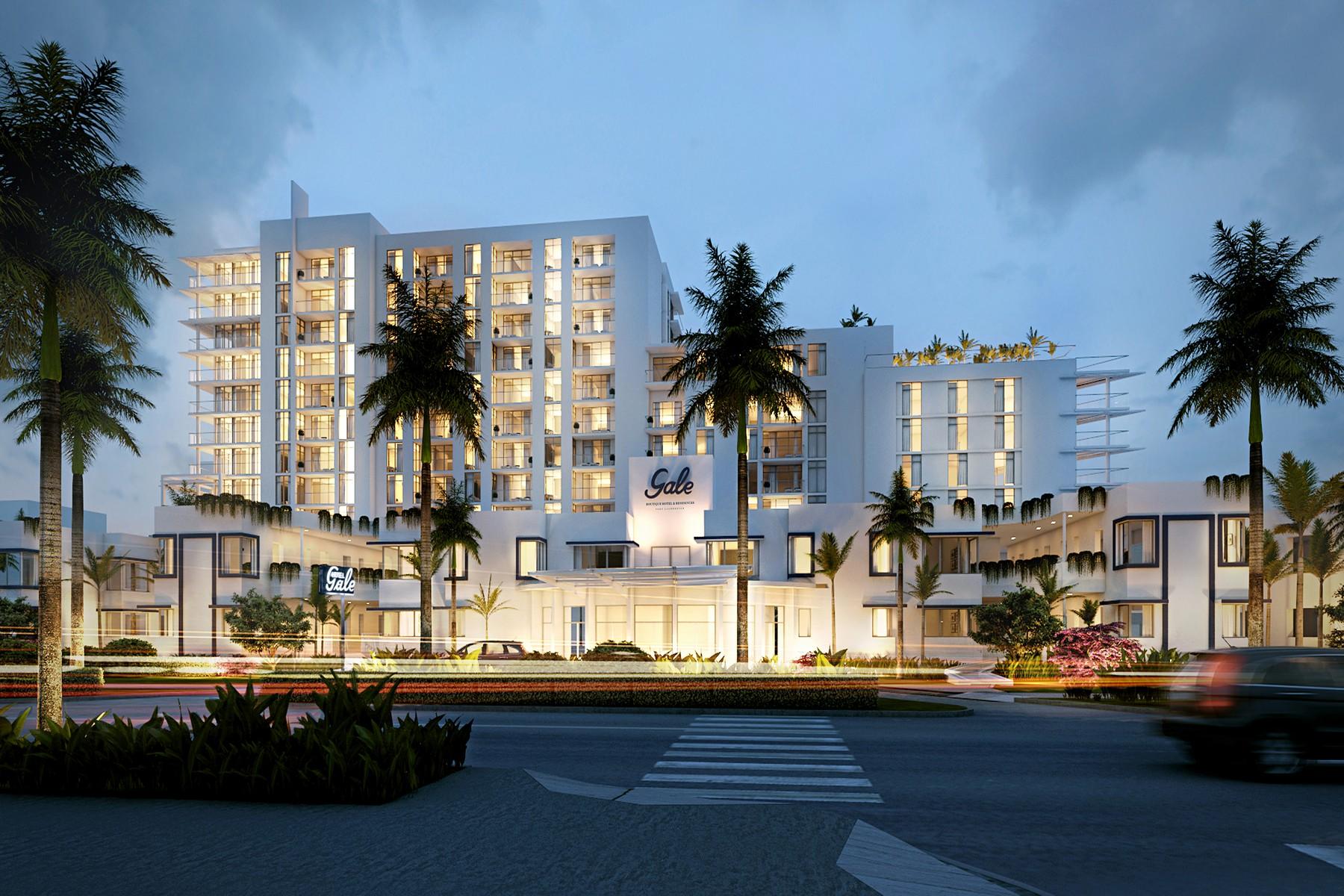 Apartamento para Venda às Gale Residences 2434 E Las Olas Blvd #502 Fort Lauderdale, Florida 33304 Estados Unidos
