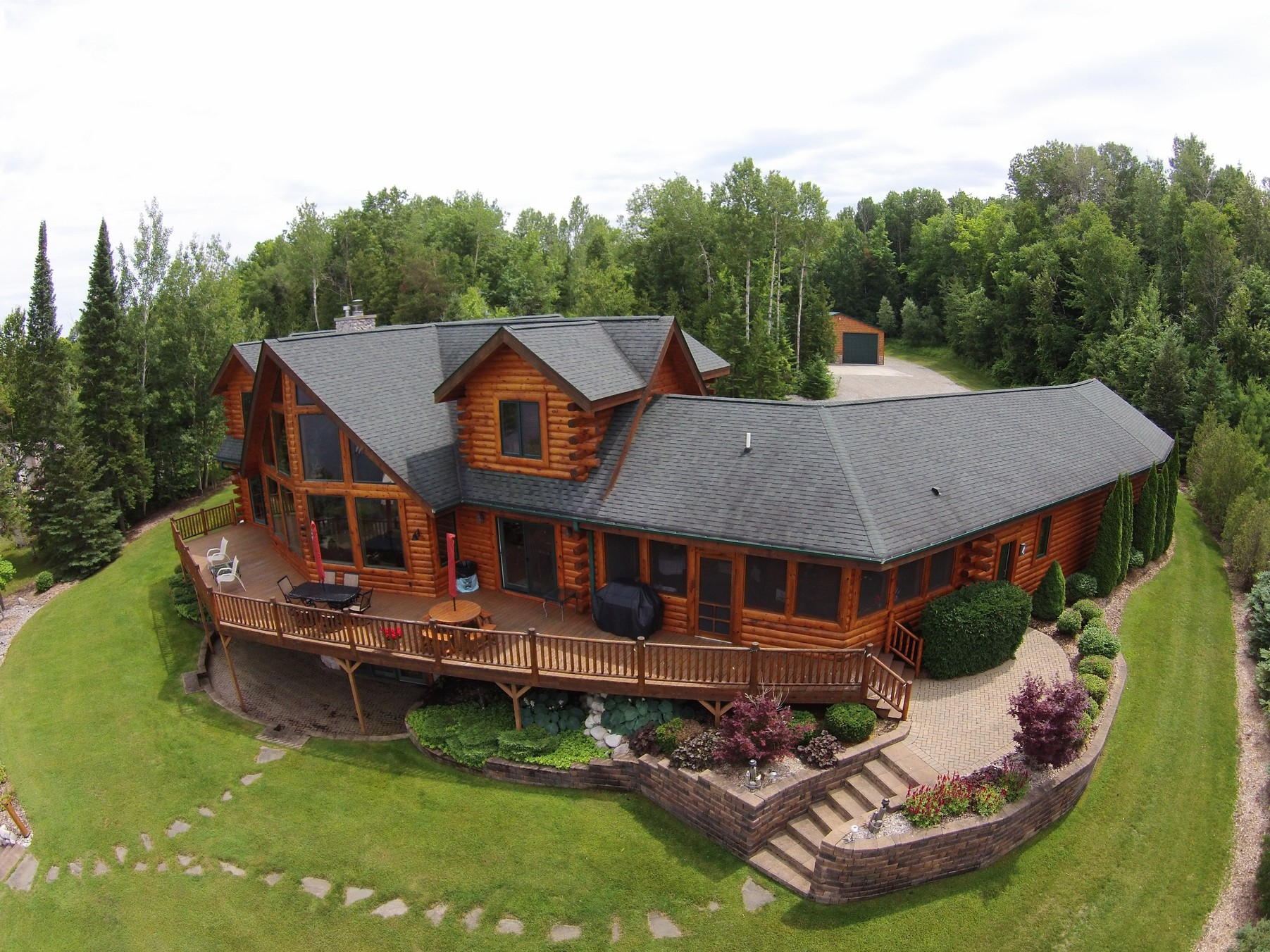 sales property at Log home on Mullett Lake