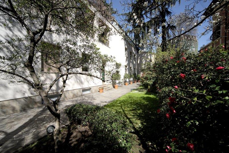 Apartment for Sale at Villa entirely refurbished with garden Via Monte Rosa Milano, Milan 20148 Italy
