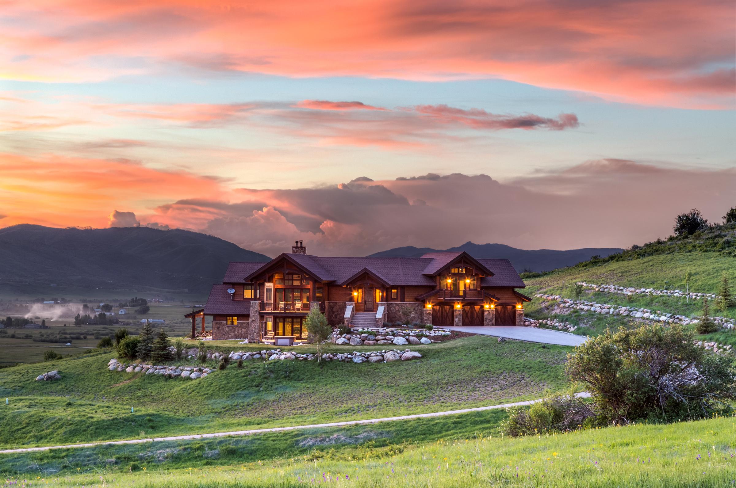Einfamilienhaus für Verkauf beim Fantastic Lake Catamount Views 32625 Hudspeth Lane Steamboat Springs, Colorado, 80487 Vereinigte Staaten
