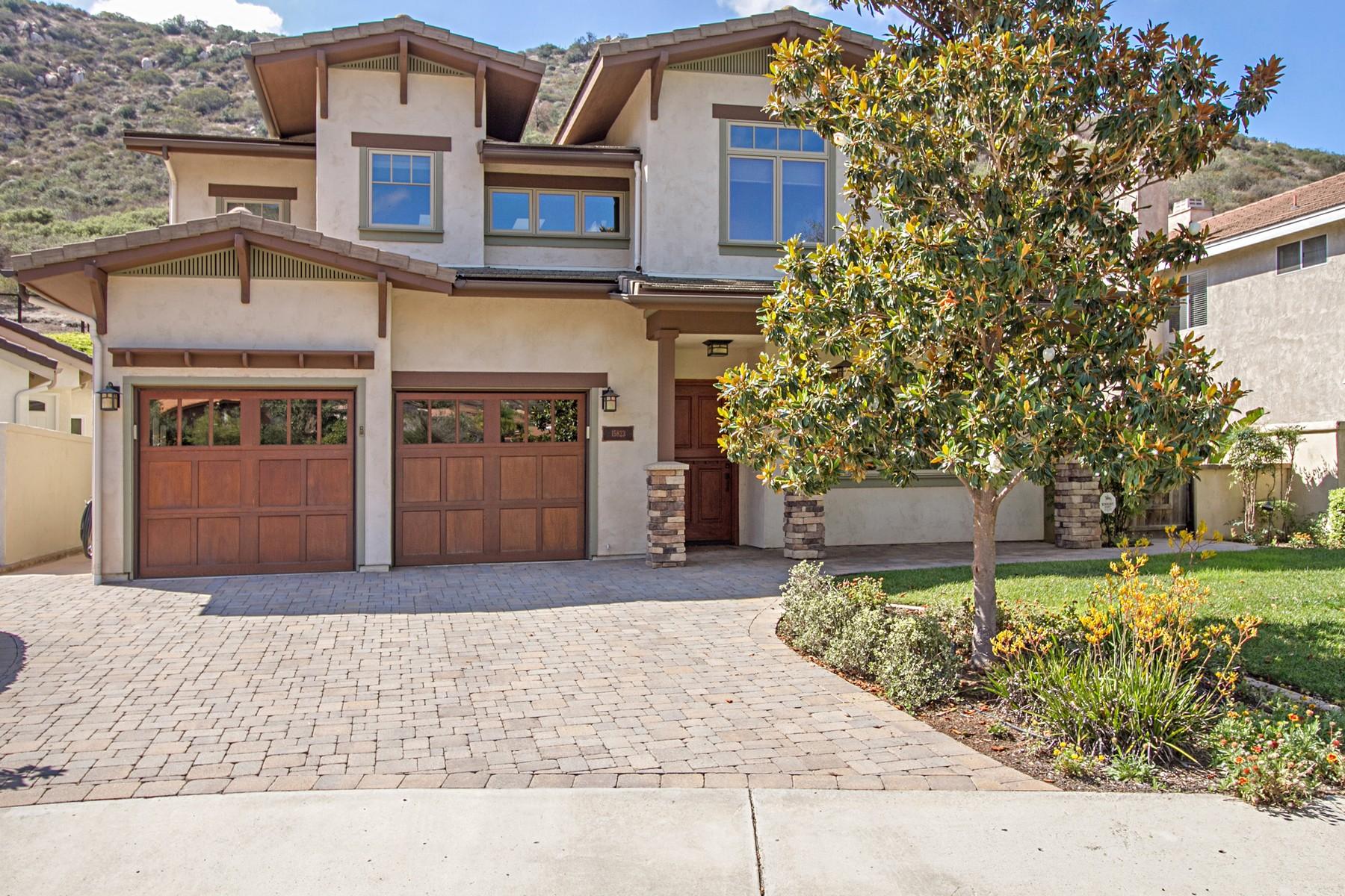 단독 가정 주택 용 매매 에 15823 Quiet Valley Lane Poway, 캘리포니아 92064 미국