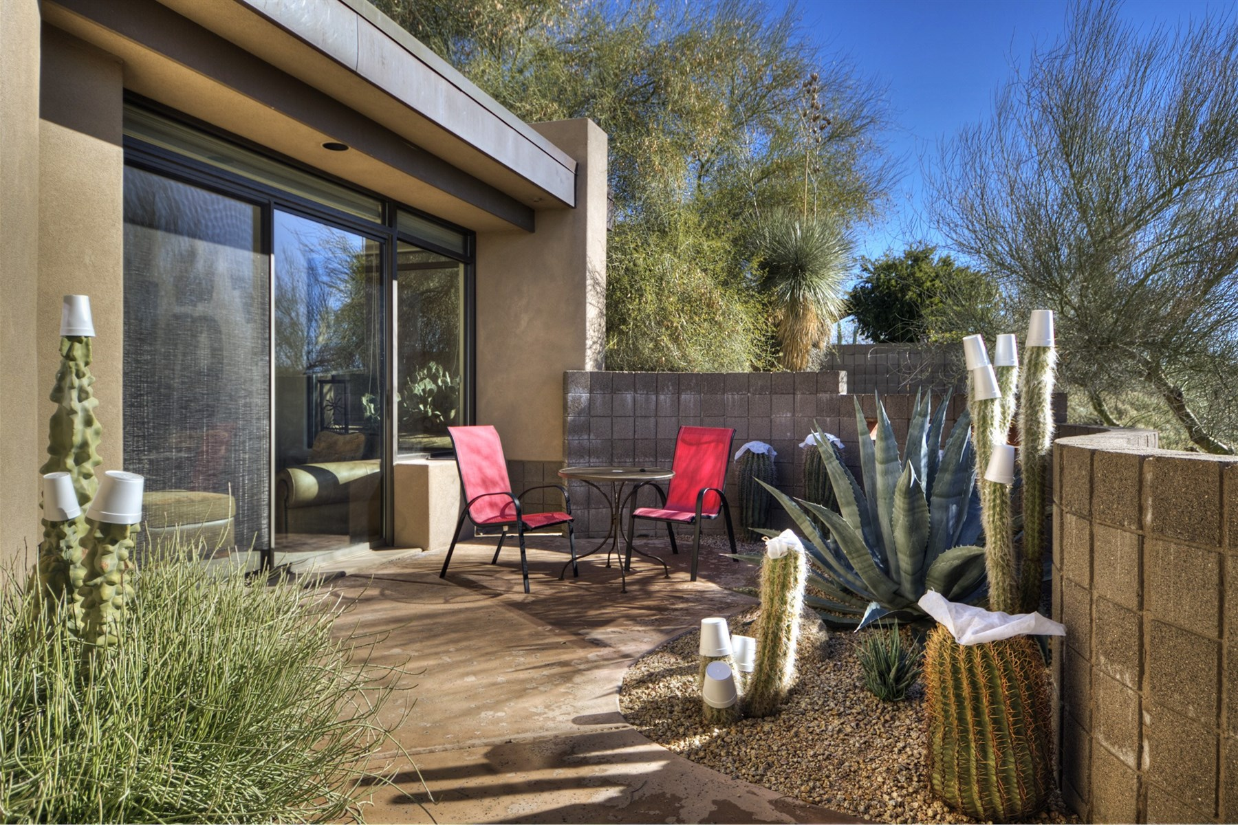 Property Of Marvelous desert contemporary with beautiful city lights and sunset views