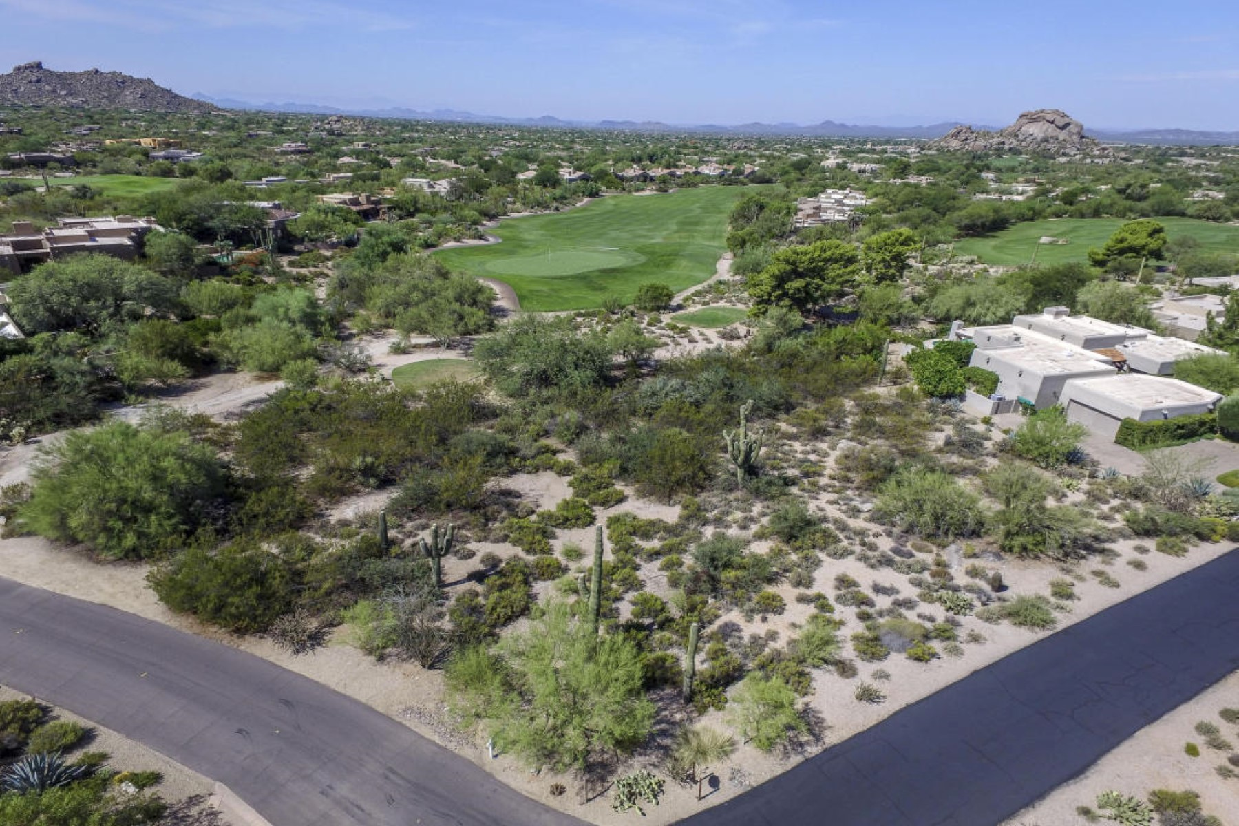 sales property at Fabulous lot looking down the 10th and 11th fairway of the Boulders North course