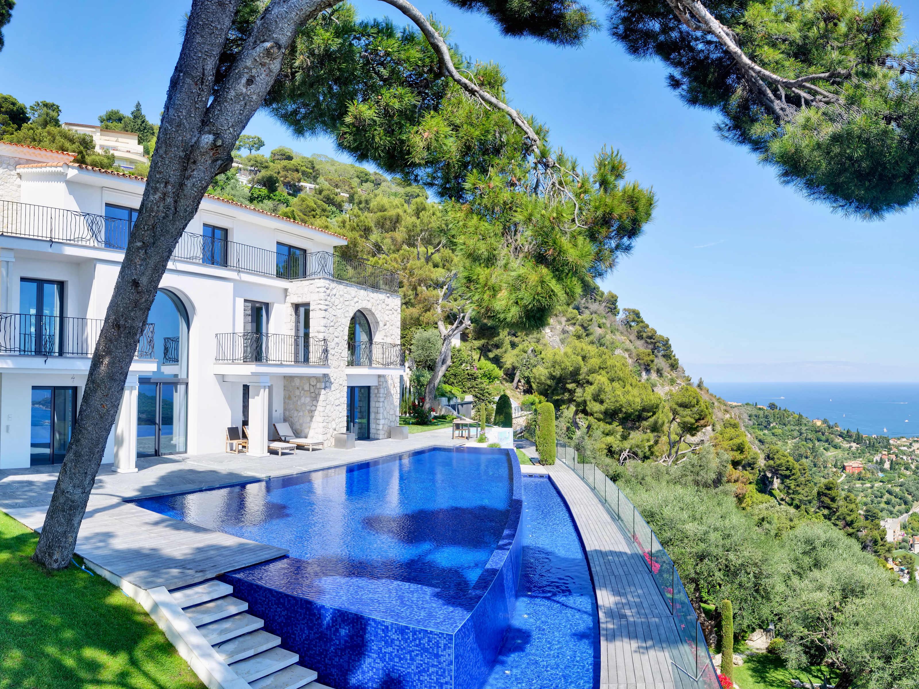 Vivienda unifamiliar por un Venta en Sole Agent - Truly Exceptional Property with Panor Villefranche Sur Mer, Provincia - Alpes - Costa Azul 06230 Francia