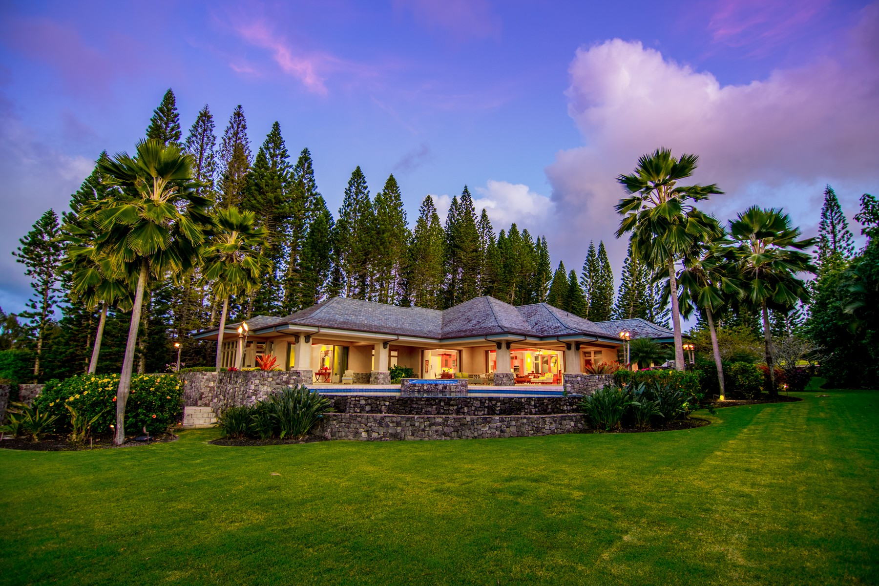 단독 가정 주택 용 매매 에 Plantation Estates - Kapalua 199 Plantation Club Drive Kapalua, 하와이, 96761 미국