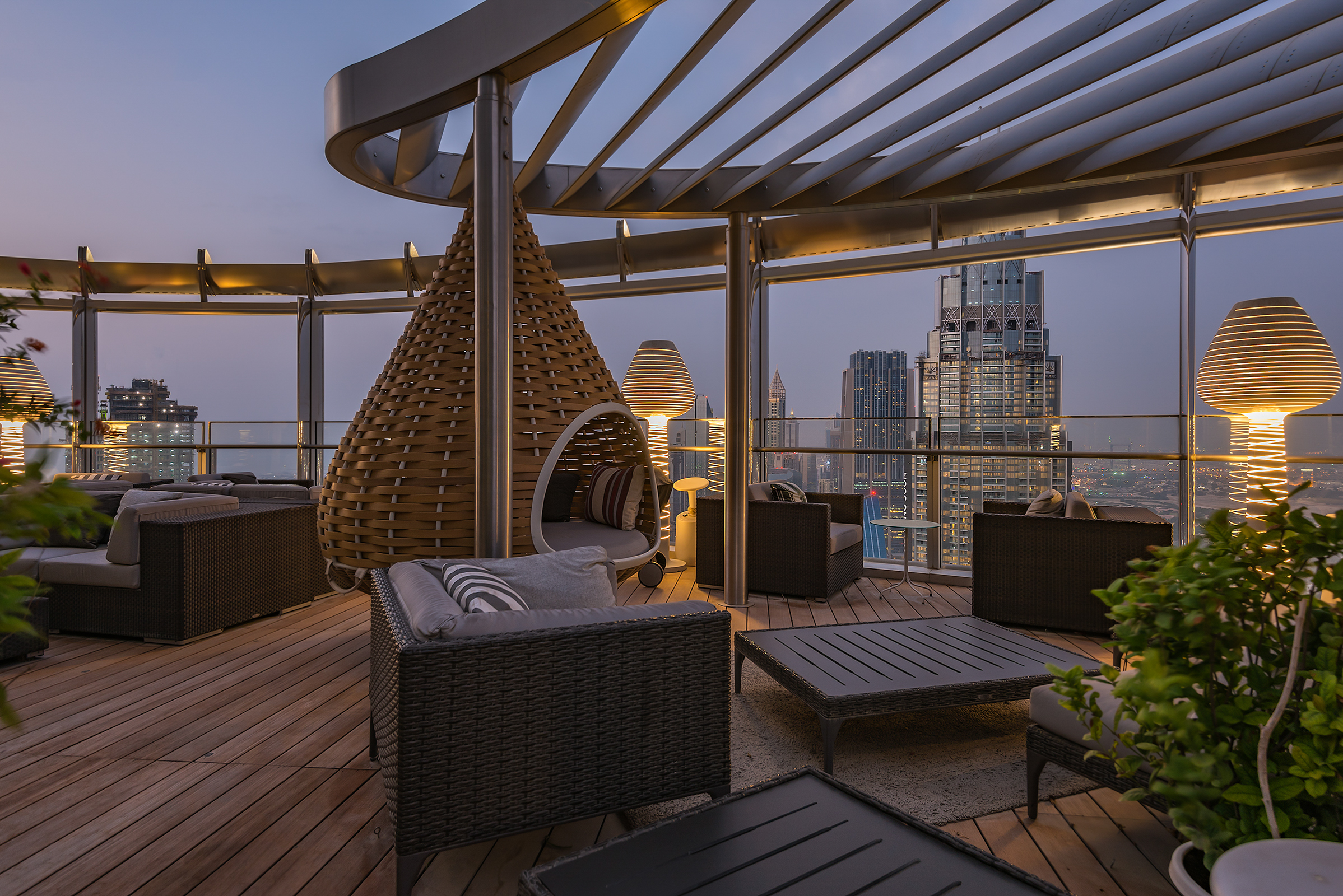 Apartamento por un Venta en Extraordinary Penthouse Dubai, Emiratos Arabes Unidos