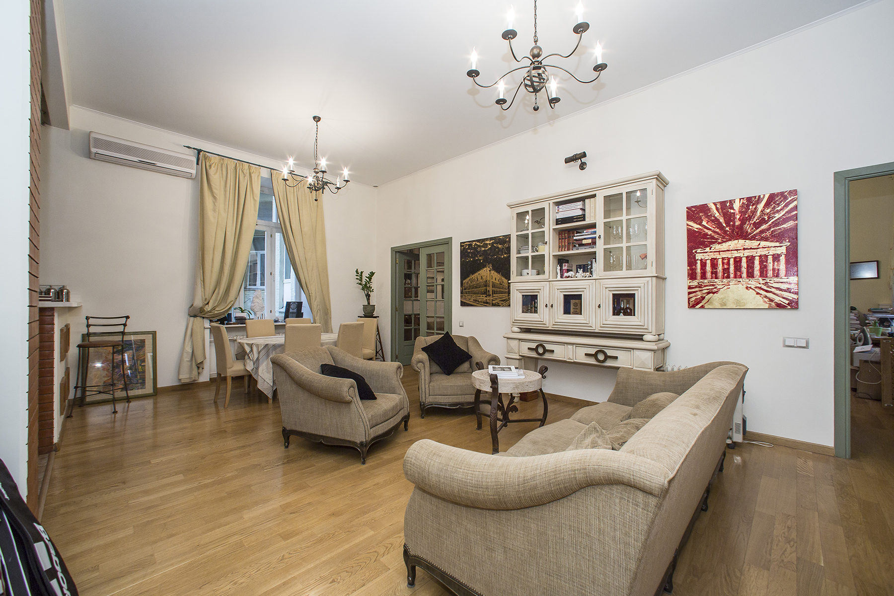 sales property at The author's apartment in museum quarter of Moscow
