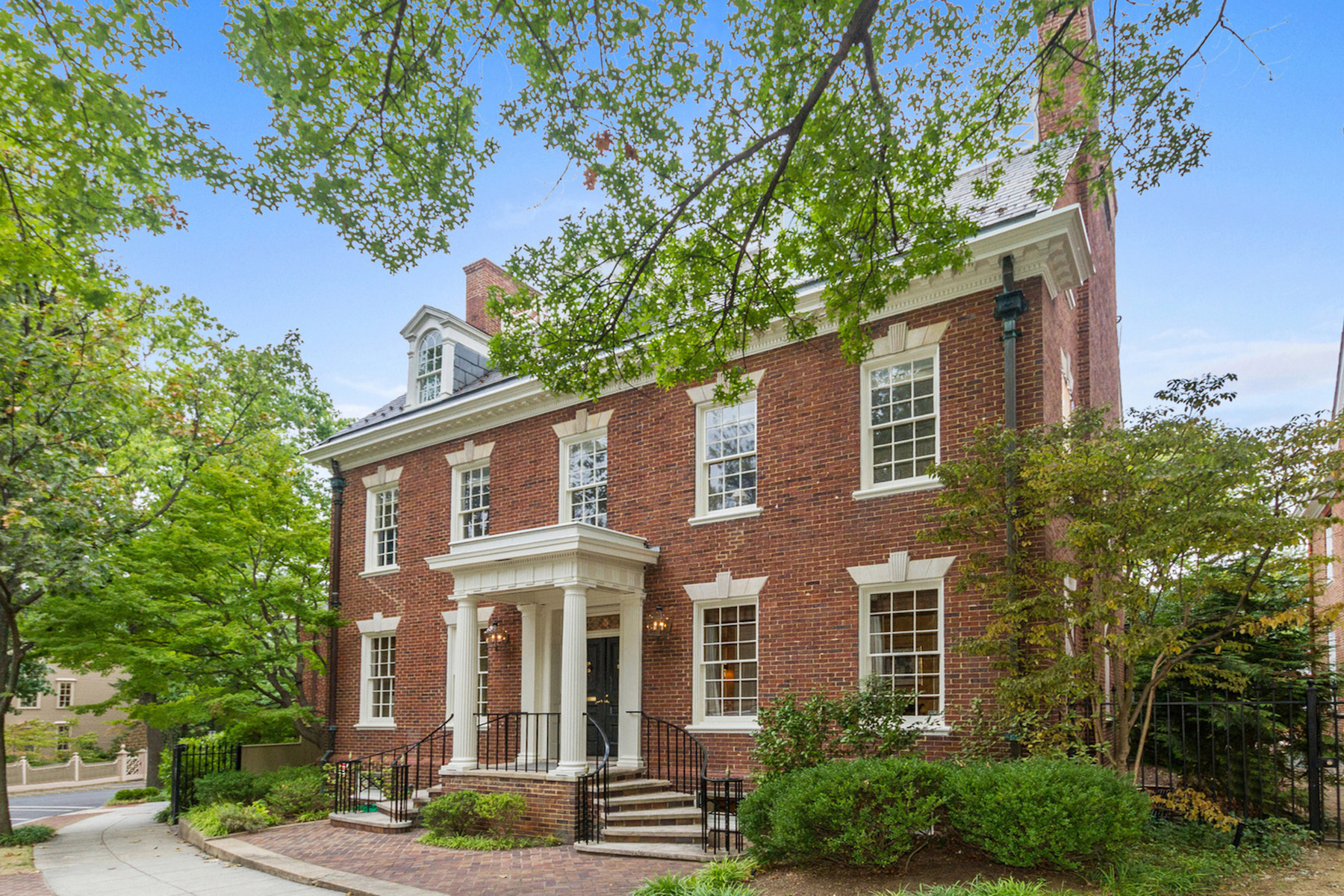 Single Family Home for Active at Kalorama 6 Kalorama Circle Nw Washington, District Of Columbia 20008 United States