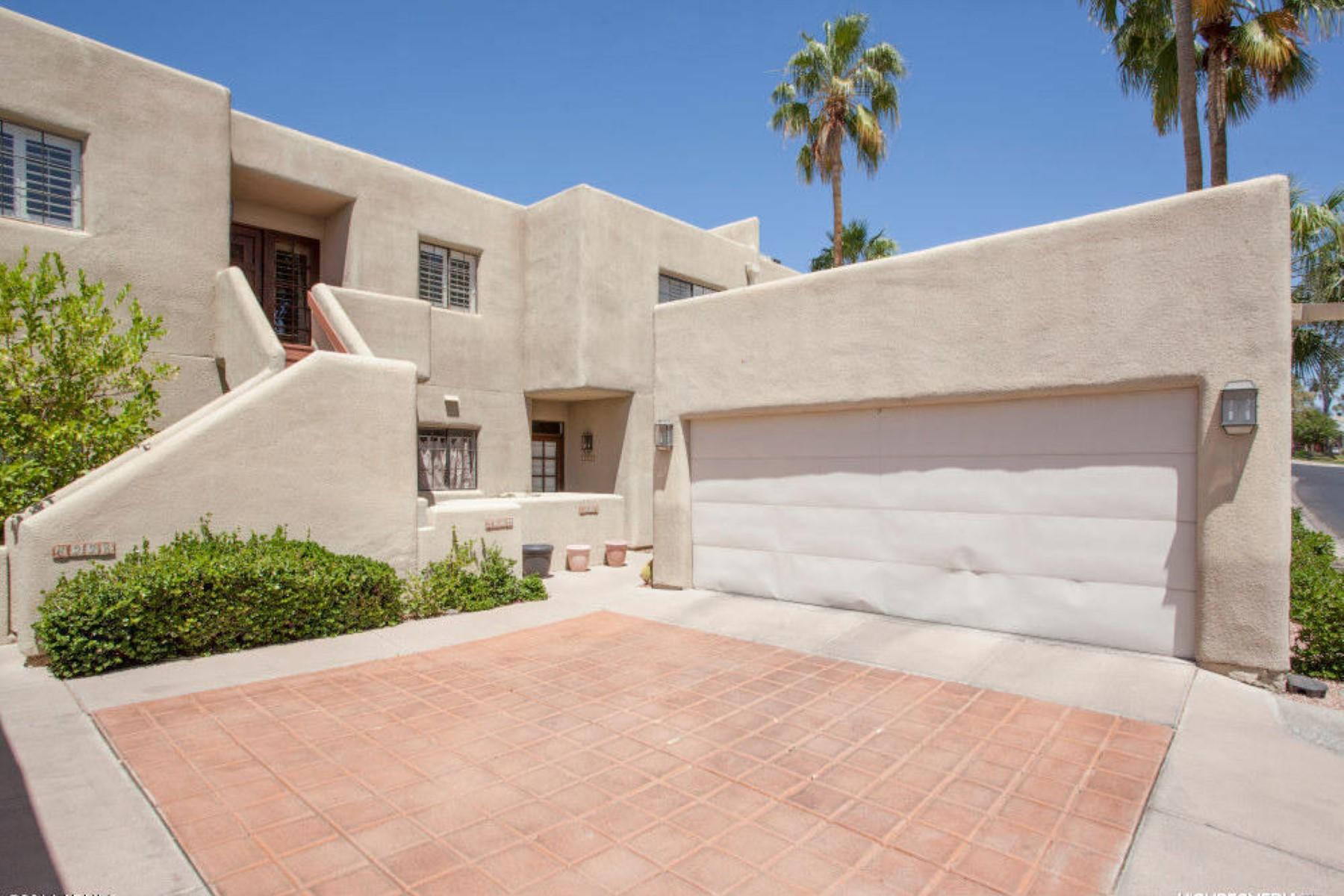 Townhouse for Sale at Biltmore Courts located in the prestigious Arizona Biltmore Estates Village. 6226 N 30TH PL Phoenix, Arizona, 85016 United States
