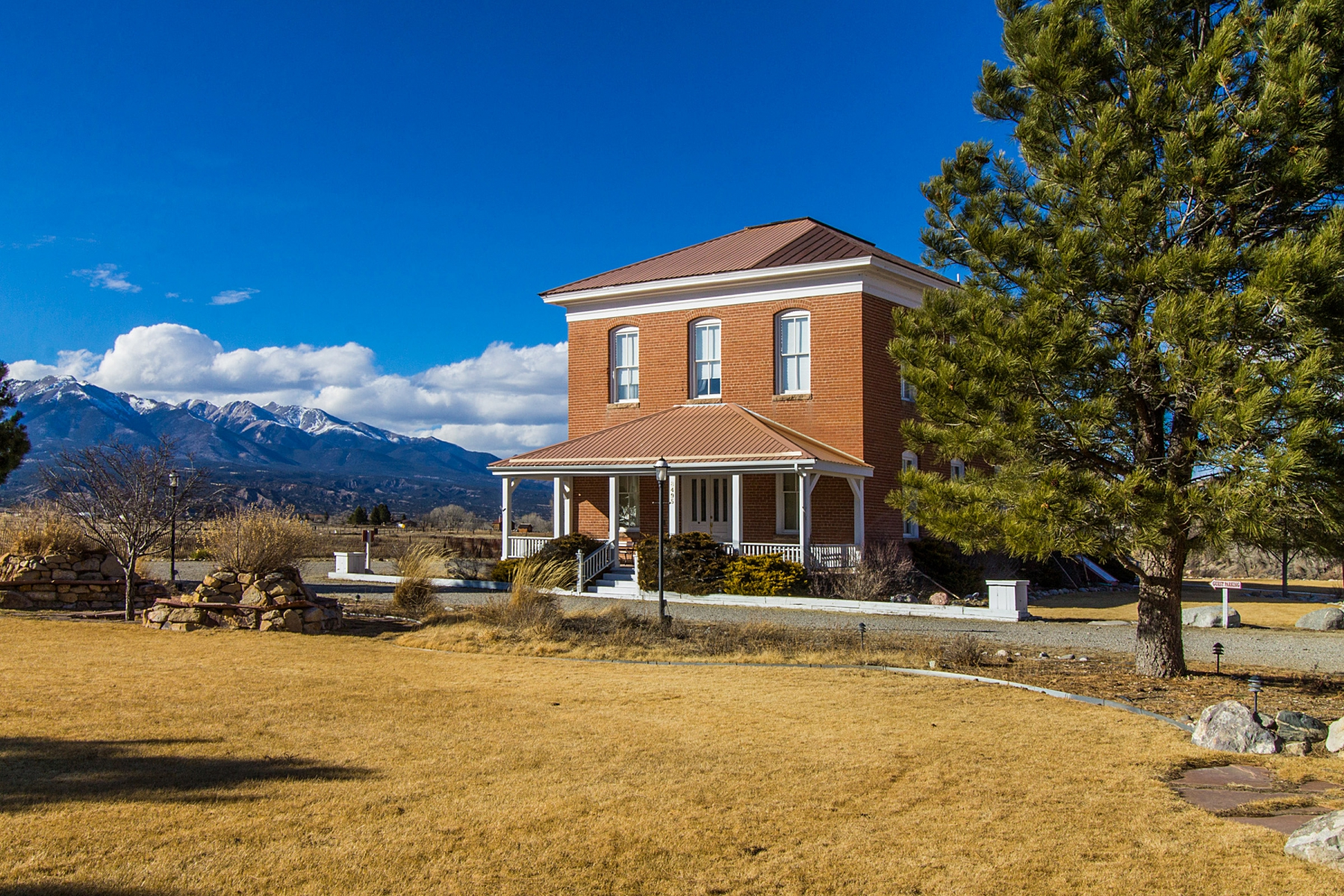 for Sale at Charming Historic Structure On Five Acres 8495 CR 160 Salida, Colorado 81201 United States