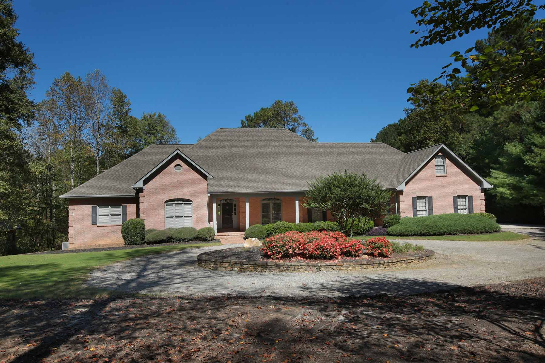 Single Family Home for Sale at Private Estate on 7+ Acres 4090 Bass Lane Cumming, Georgia, 30028 United States