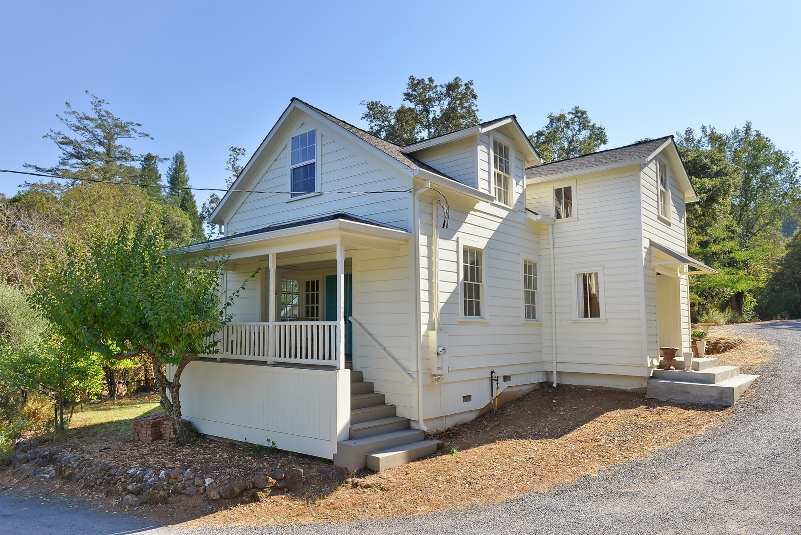 Vivienda unifamiliar por un Venta en School House 2063-2065 W Dry CReek Road Healdsburg, California, 95448 Estados Unidos
