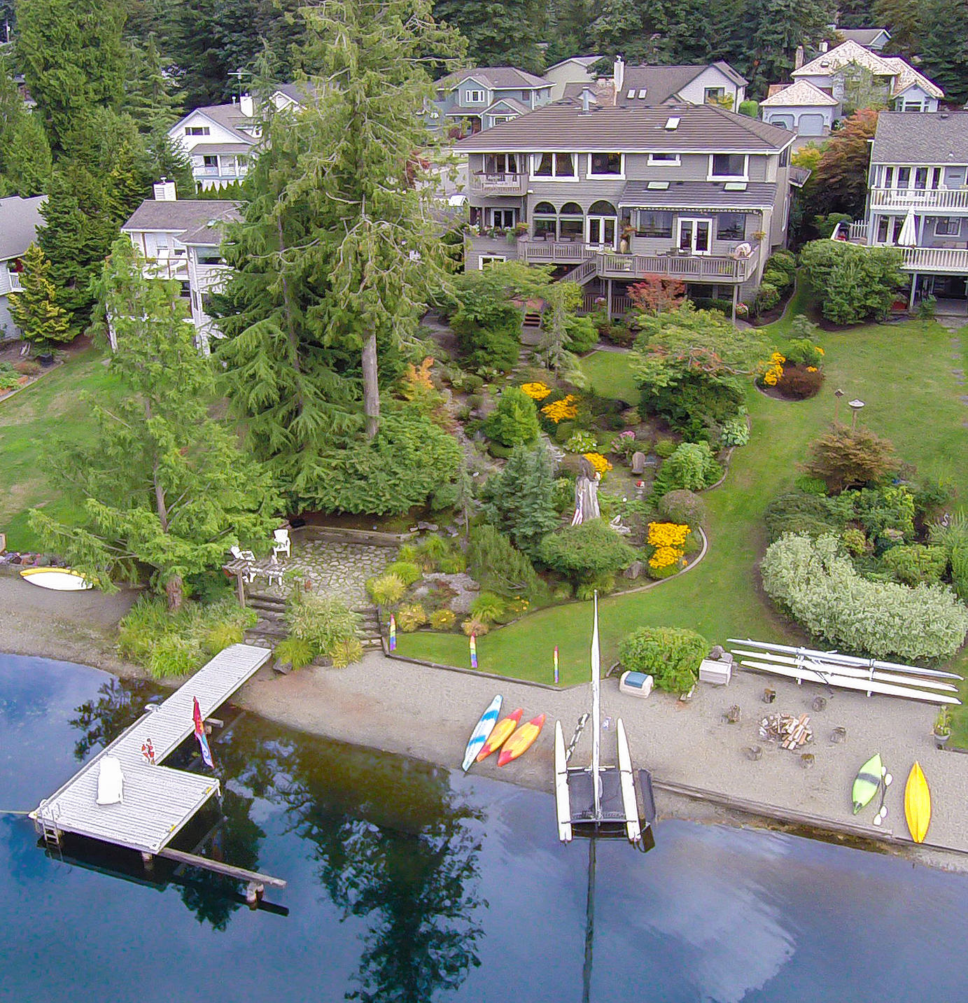 sales property at Pipe Lake Waterfront Estate