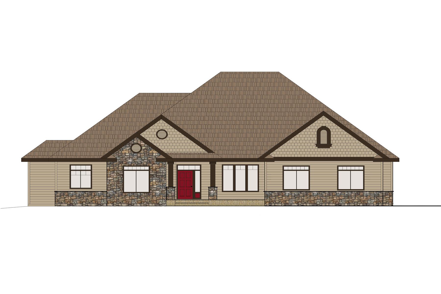 Maison unifamiliale pour l Vente à Bear Creek Estates 11762 N Cub Street Hayden, Idaho 83835 États-Unis