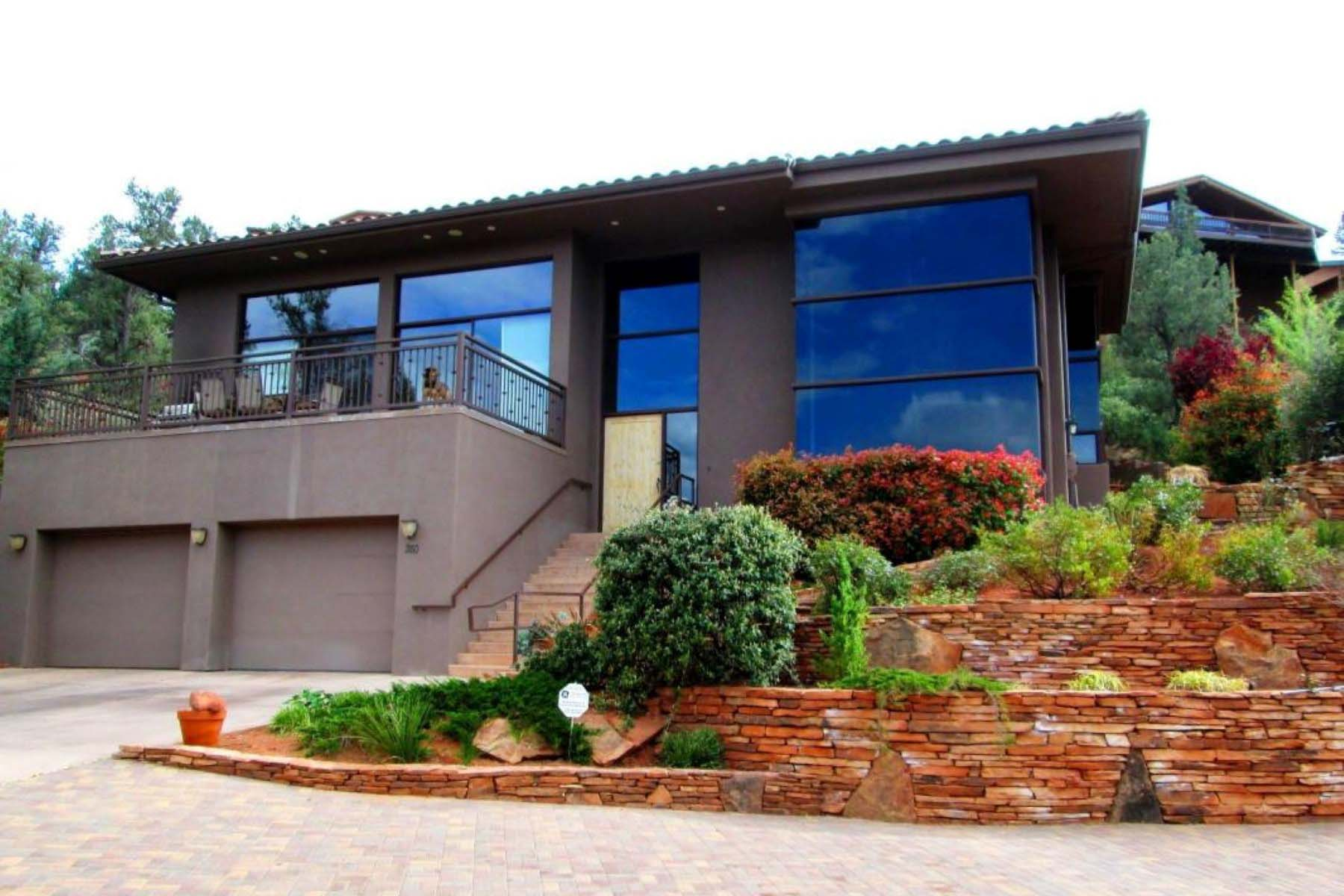 獨棟家庭住宅 為 出售 在 Contemporary home located in the Rolling Hills Subdivision. 280 Barcelona Rd Sedona, 亞利桑那州 86336 美國