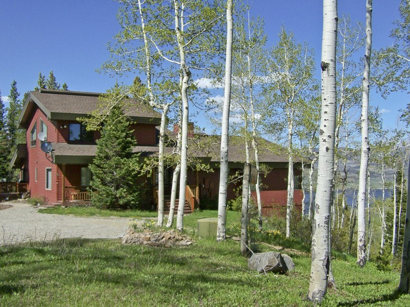 Single Family Home for Sale at Captain's Cove @ Steamboat Lake 39355 Leeward Lane Clark, Colorado 80428 United States