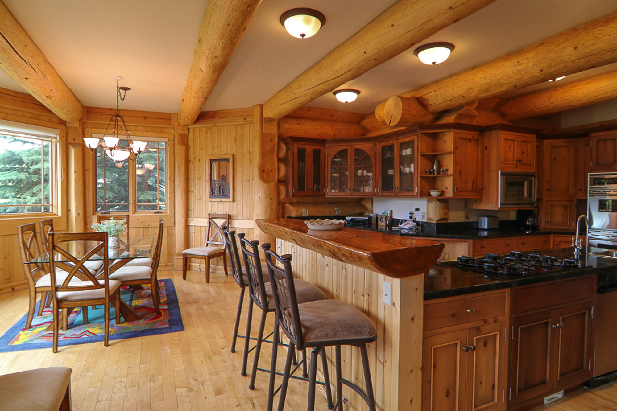 Property Of Luxury Log Home