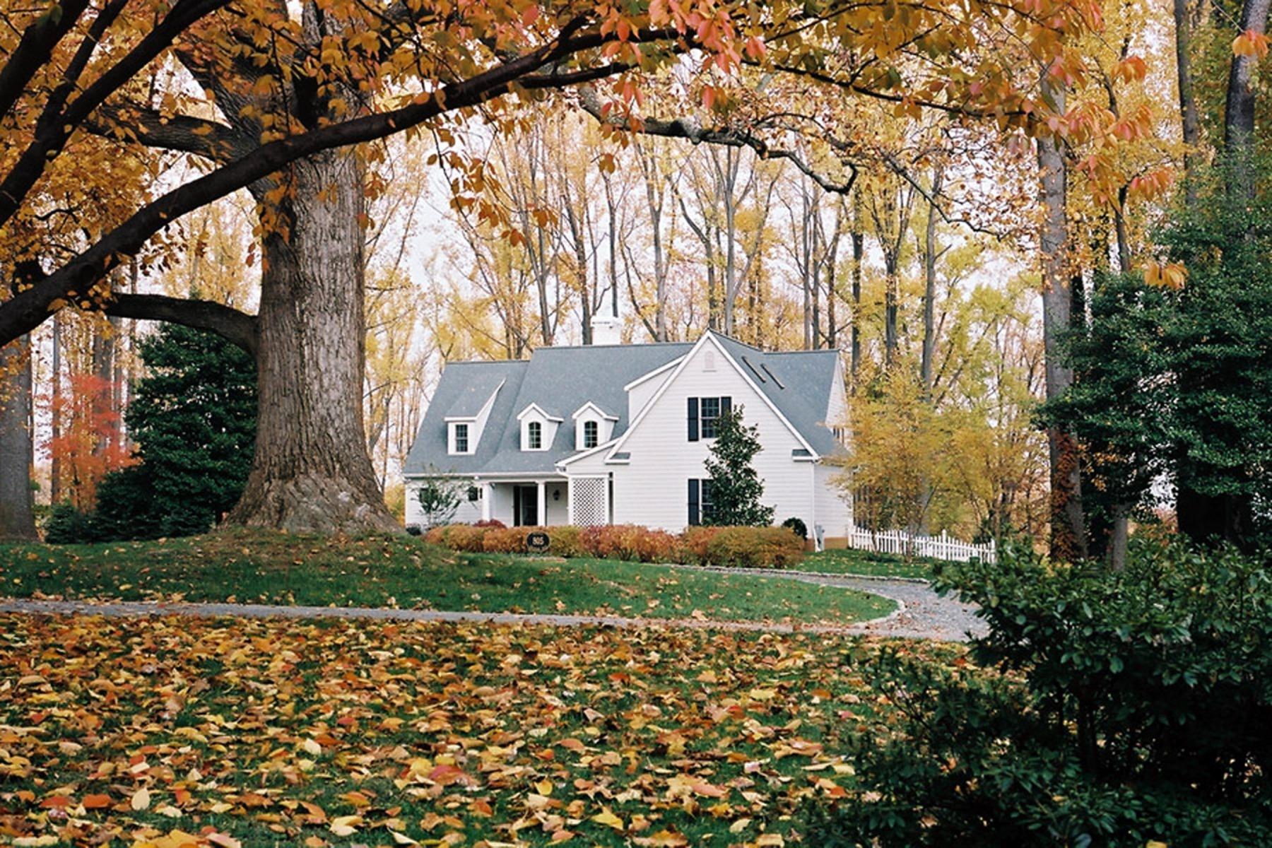 단독 가정 주택 용 매매 에 Gibson Island 805 Rackham Rd Gibson Island, 메릴랜드 21056 미국
