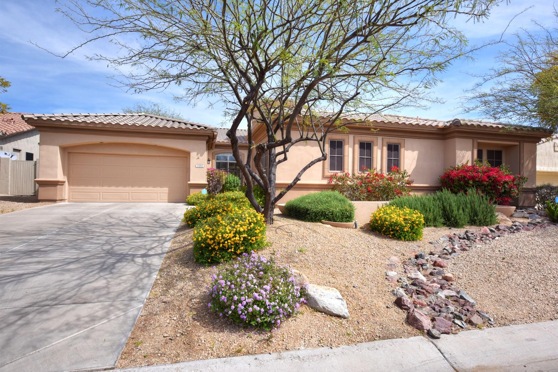 Single Family Home for Sale at Popular Maracay floor plan on quiet cul-de-sac 7692 E Tardes Dr Scottsdale, Arizona, 85255 United States