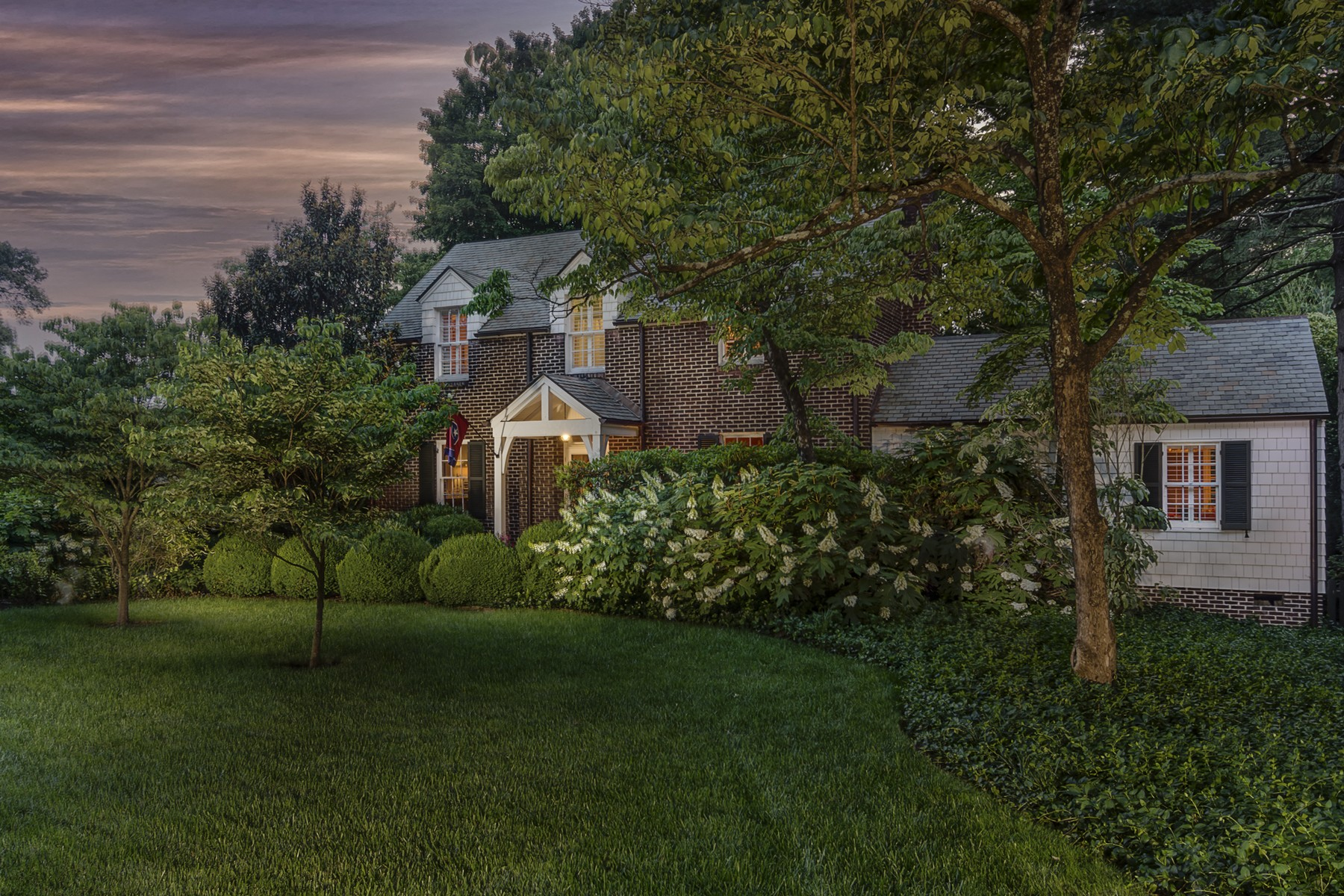 sales property at Stately Traditional Home in Beautiful Sequoyah Hills