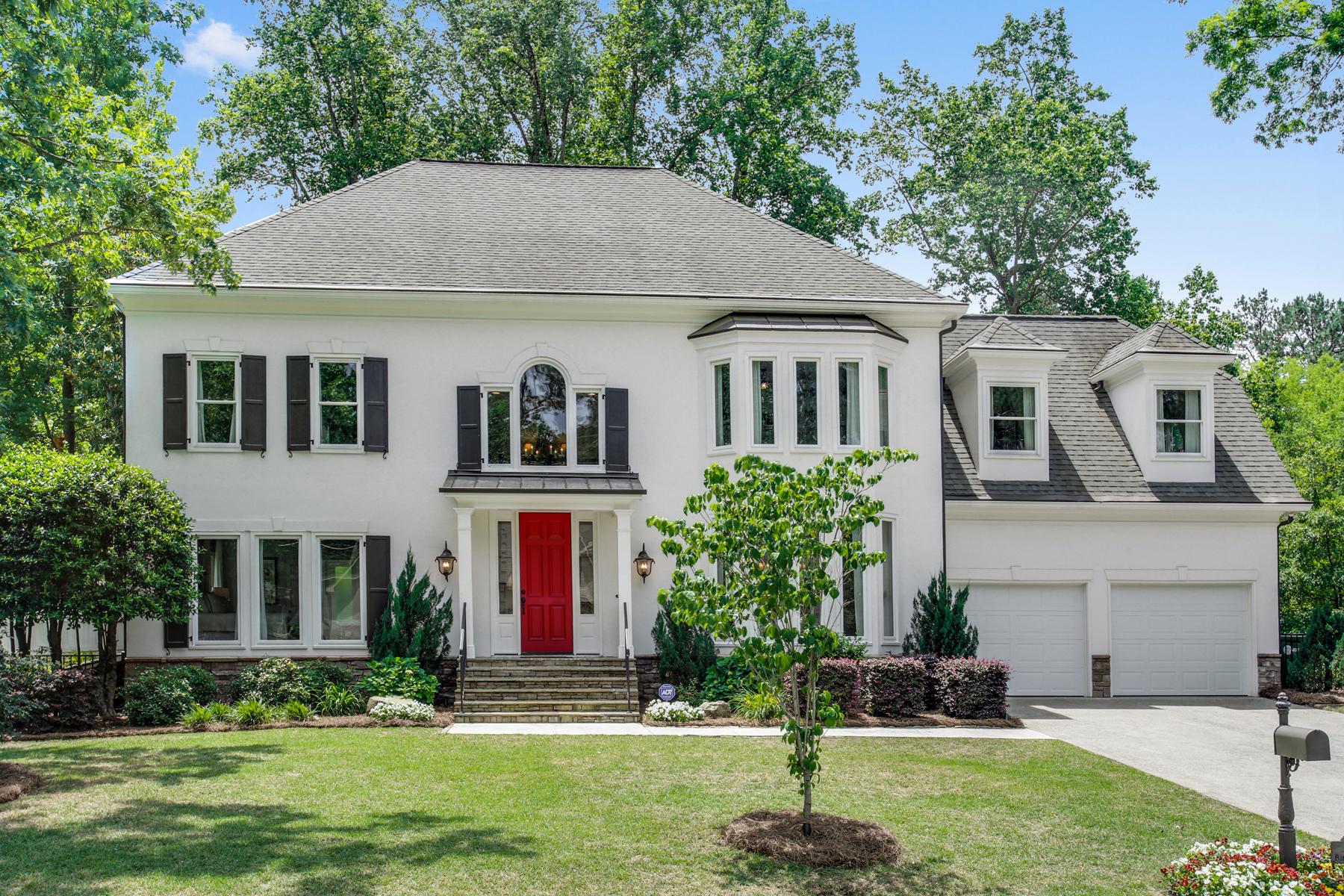 단독 가정 주택 용 매매 에 Absolutely Stunning Home On Great Cul-de-sac Street 1328 Battleview Drive Atlanta, 조지아, 30327 미국