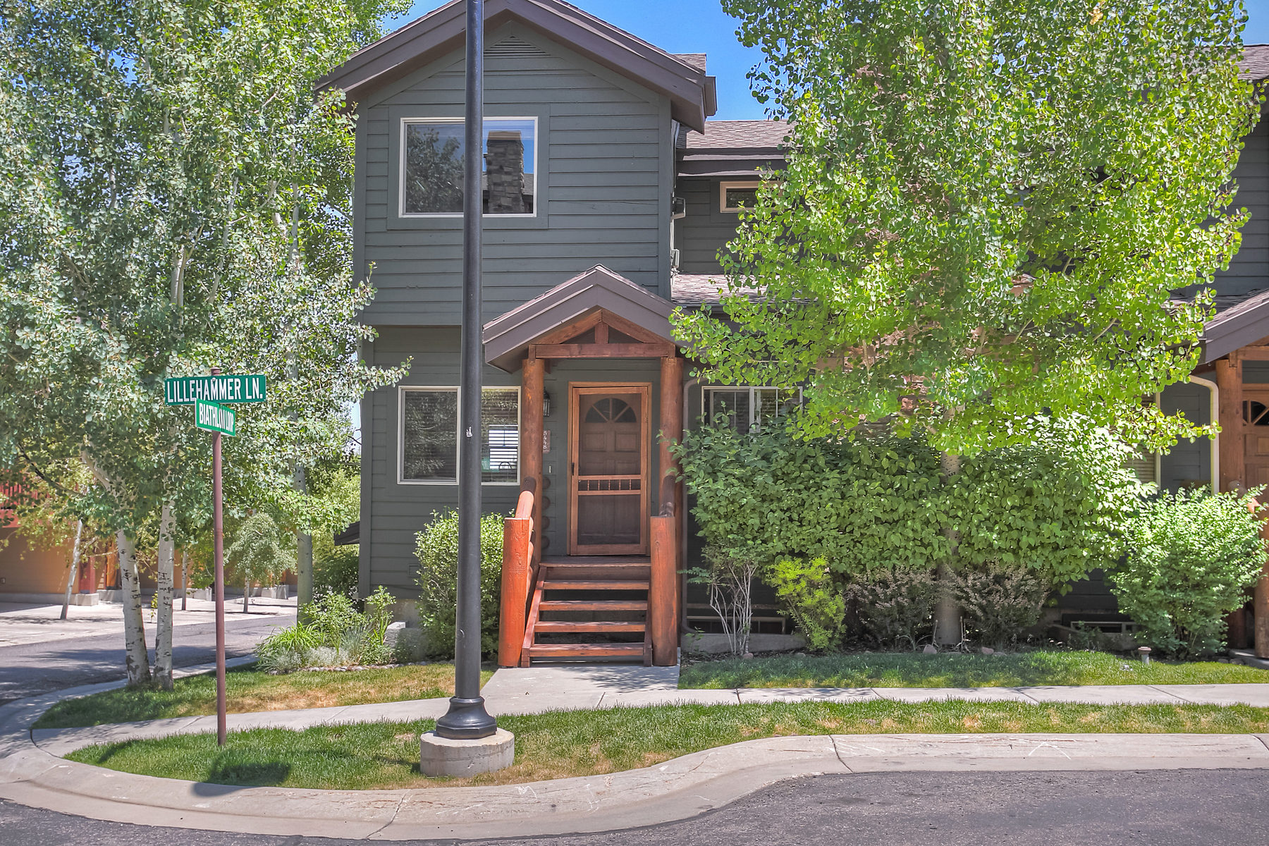Single Family Home for Sale at Remodeled End Unit Townhouse 5448 Lillehammer Lane Park City, Utah 84098 United States