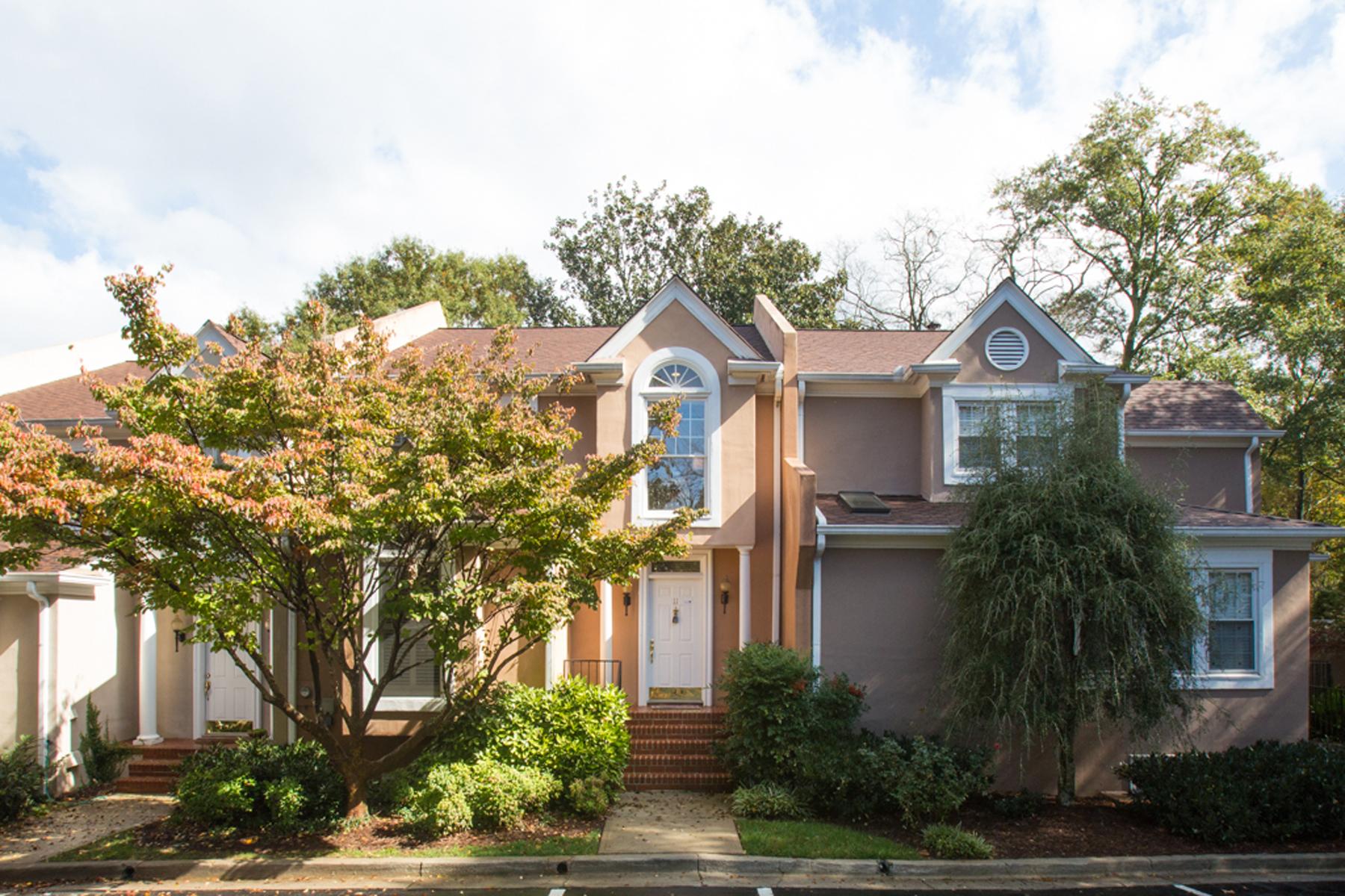 タウンハウス のために 売買 アット Brand New Renovated Townhome With Fabulous Druid Hills Location 11 Lullwater Estate Atlanta, ジョージア 30307 アメリカ合衆国