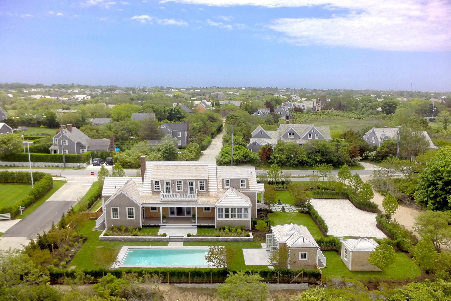 獨棟家庭住宅 為 出售 在 Best in Class 1 Cliff Lane Nantucket, 麻塞諸塞州 02554 美國