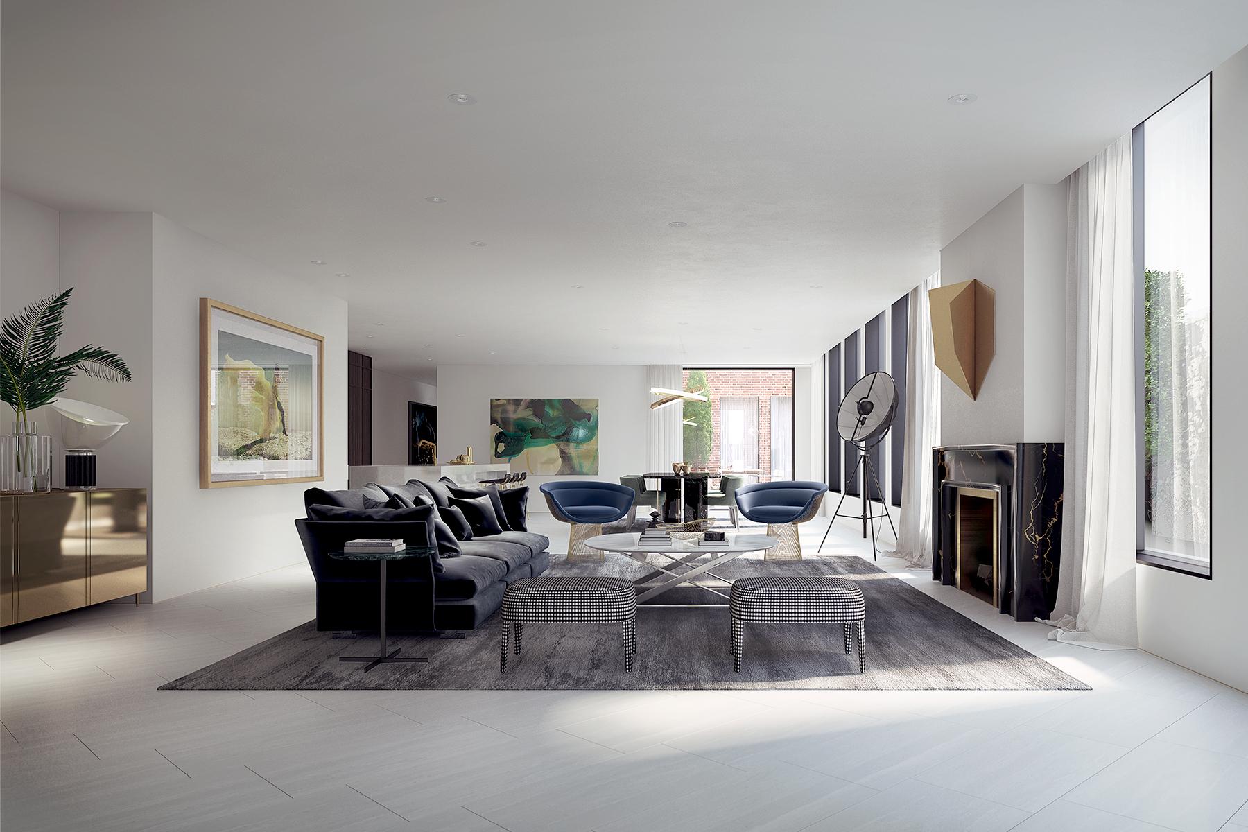 Villa per Vendita alle ore 181-189 Gipps Street, East Melbourne 181 Gipps Street Melbourne, Victoria, 3002 Australia