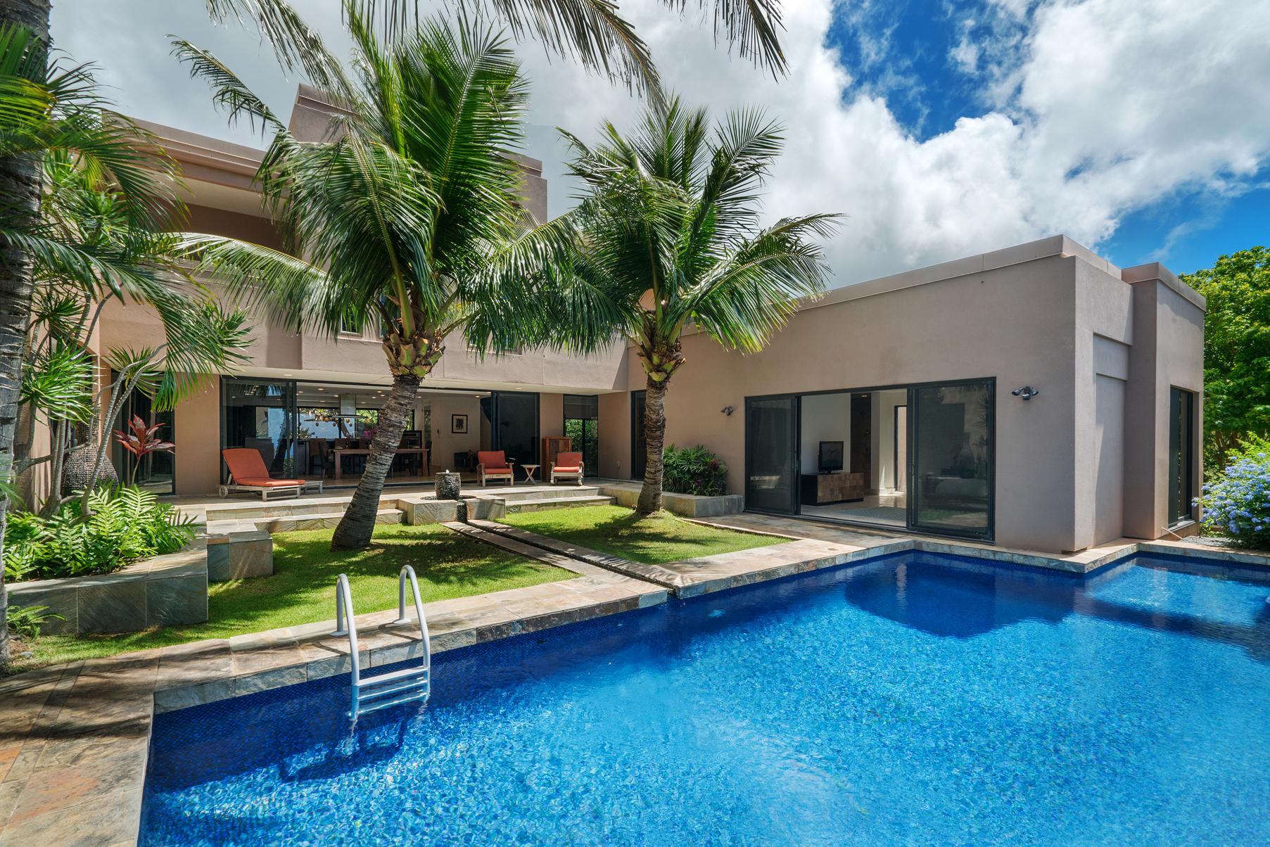 Casa Unifamiliar por un Venta en Kahala Kua Contemporary 5614 Poola Street Honolulu, Hawaii, 96821 Estados Unidos