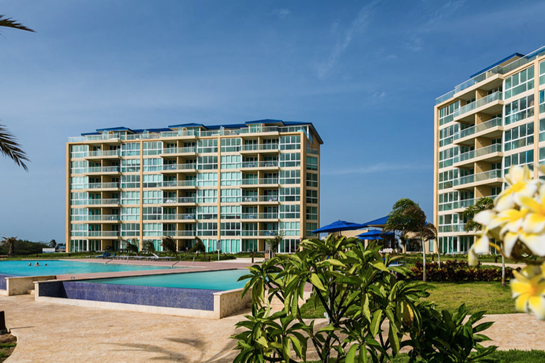公寓 为 销售 在 Blue Residence Club, Apartment B Eagle Beach, 阿鲁巴岛