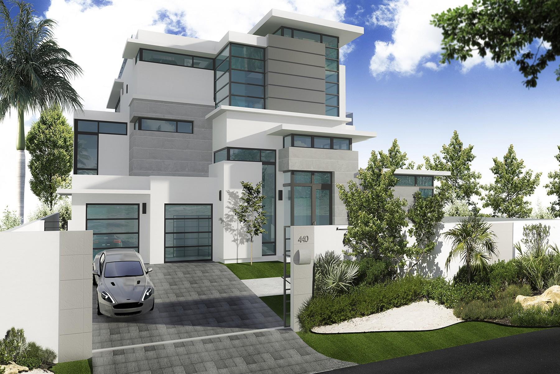 独户住宅 为 销售 在 440 Mola Ave. Fort Lauderdale, 佛罗里达州 33301 美国
