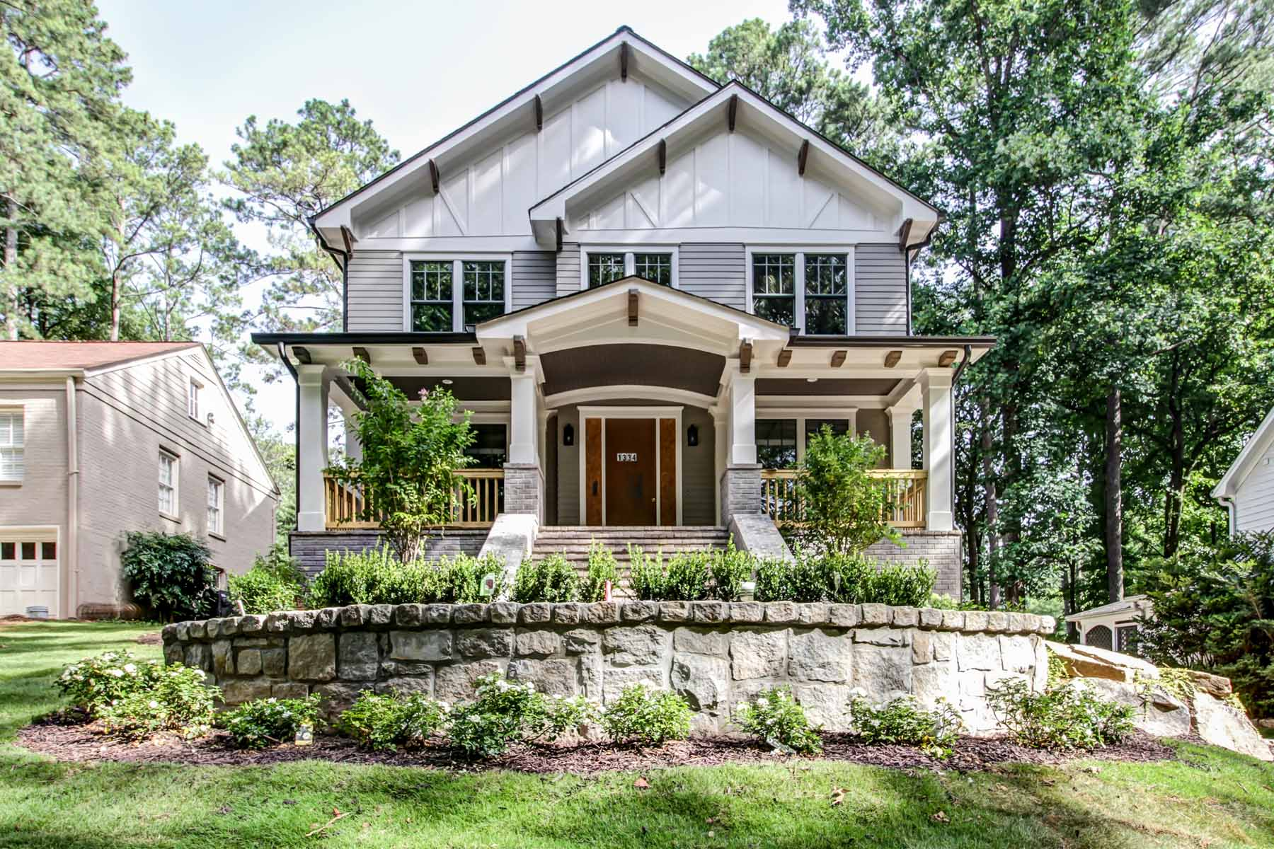 Single Family Home for Sale at Quality New Construction 1334 Beech Valley Road Morningside, Atlanta, Georgia 30306 United States