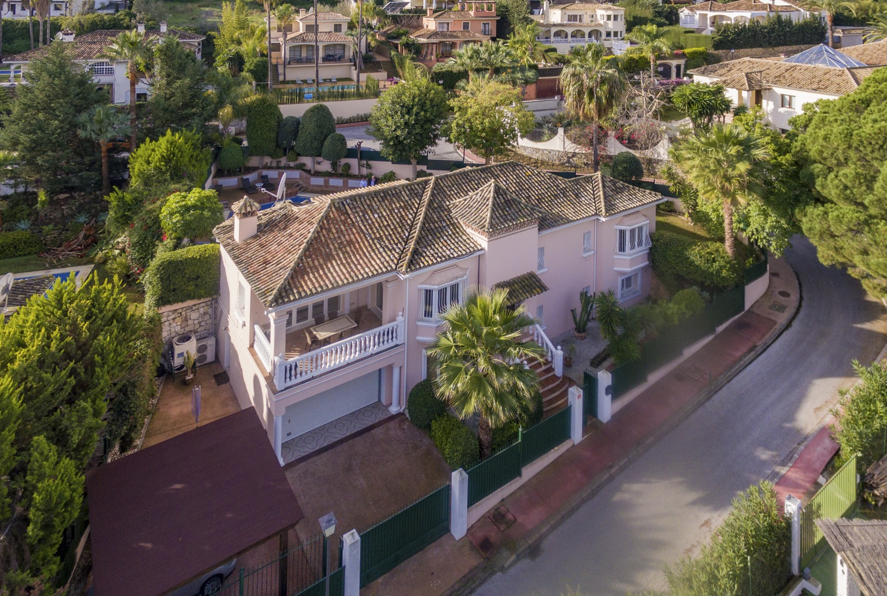Single Family Home for Sale at Villa with golf views Nueva Andalucia Las Brisas Marbella, Andalucia, 29660 Spain