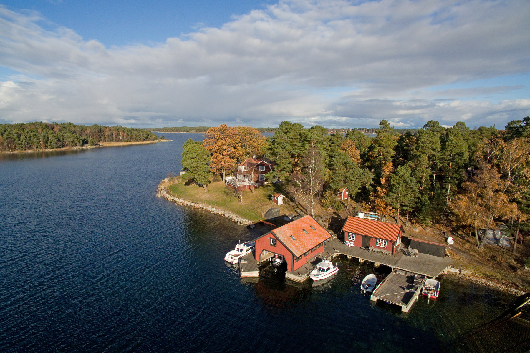 sales property at An eight-hectare homestead in the archipelago, on an idyllic island