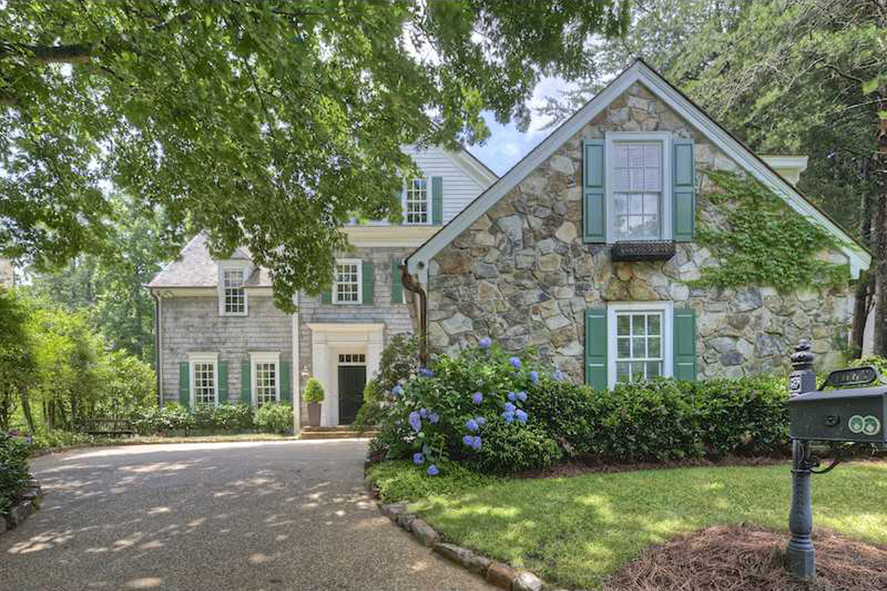 Single Family Home for Sale at Handsome Custom Built Home 1087 Brookhaven Square Brookhaven, Atlanta, Georgia, 30319 United States