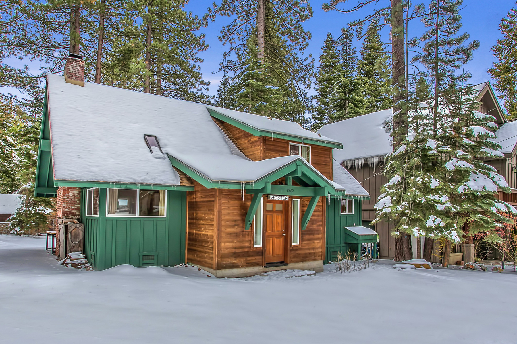 Single Family Home for Active at 1530 Tahoe Park Avenue Tahoe City, California 96145 United States