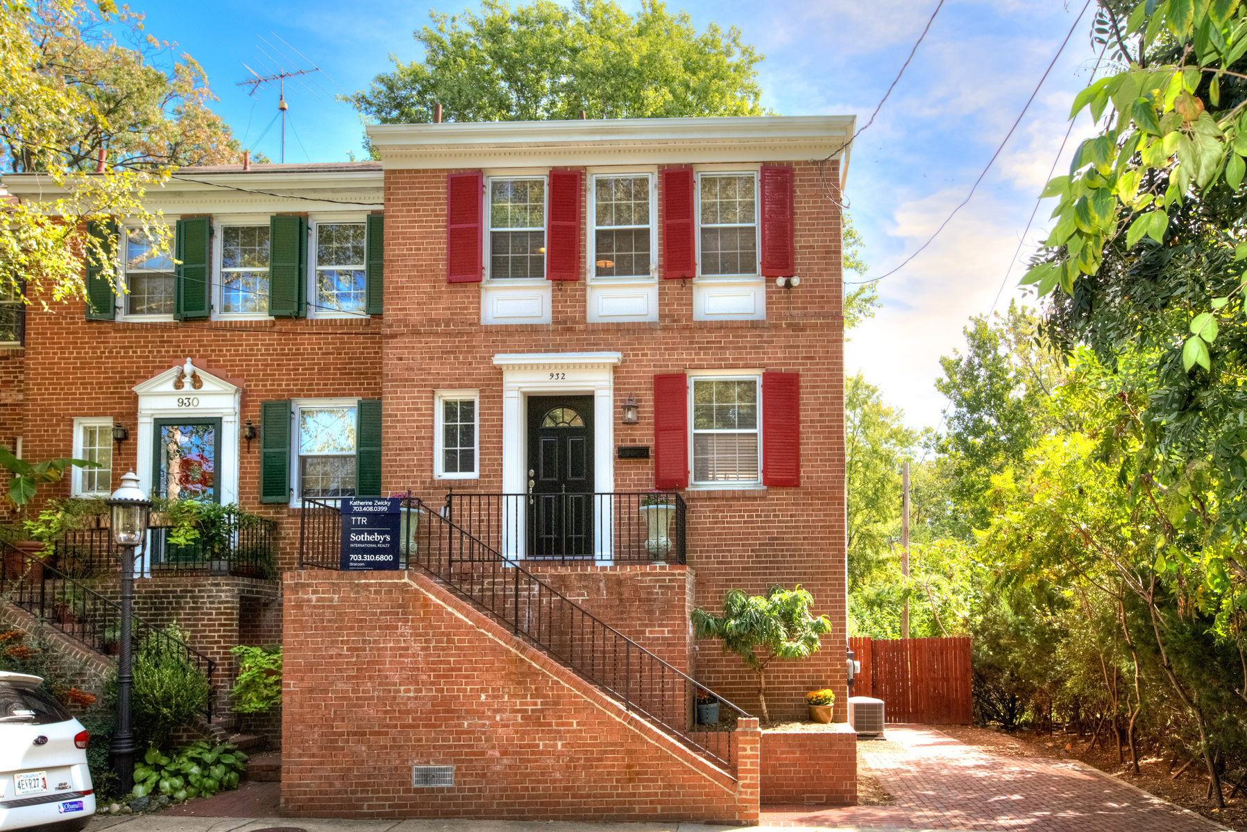 Townhouse for Sale at Old Town 932 S. Fairfax St Alexandria, Virginia 22314 United States