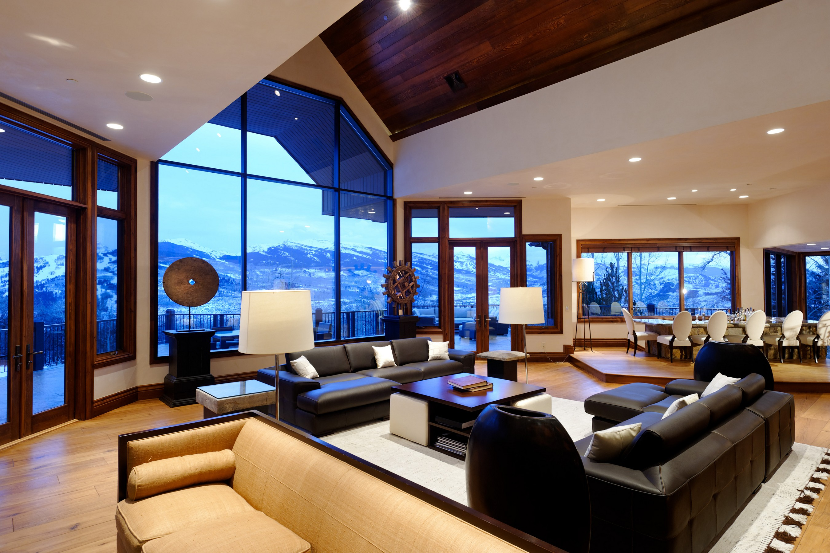 Maison unifamiliale pour l Vente à Front Row in Starwood 876 South Starwood Drive Aspen, Colorado, 81611 États-Unis