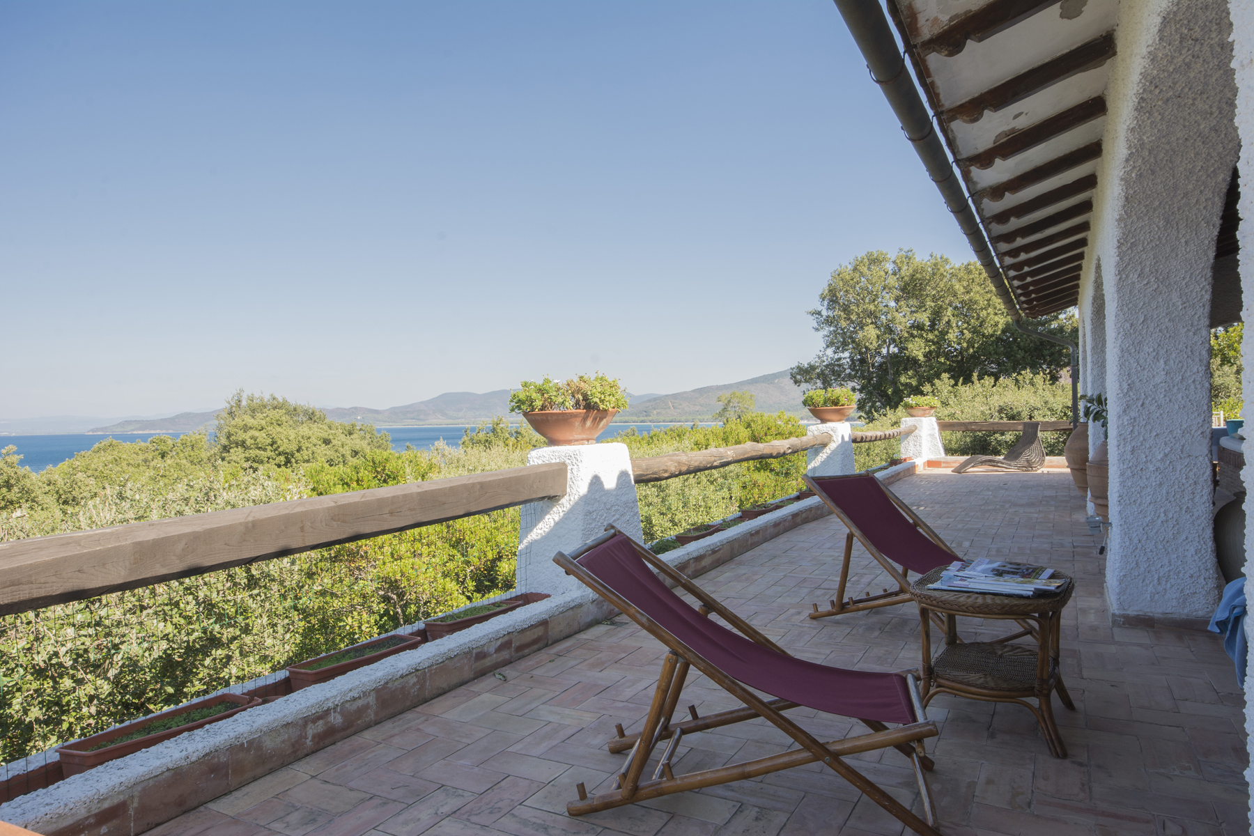 Additional photo for property listing at Charming Villa with breathtaking view of the sea Punta Ala, Grosseto Italia