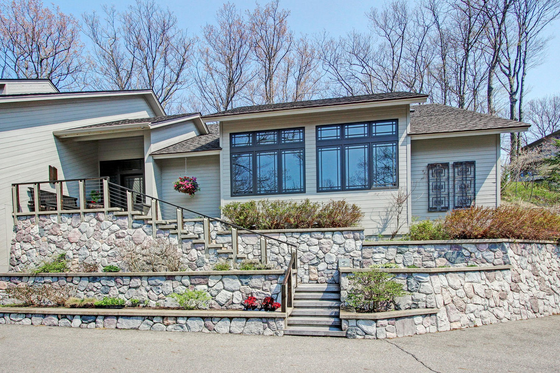 獨棟家庭住宅 為 出售 在 One Of A Kind Lake Michigan Home! 6685 Sunset Concourse Holland, 密歇根州, 49423 美國