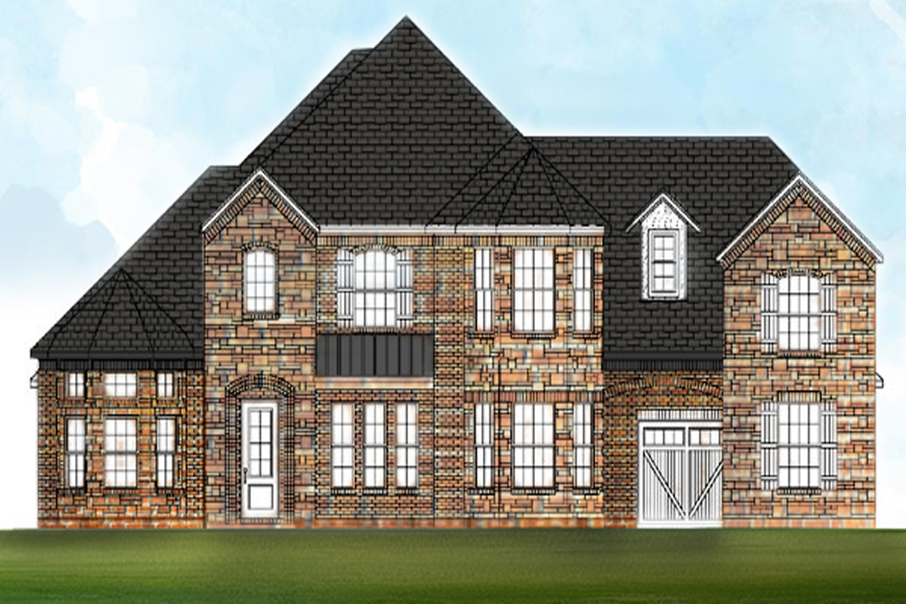 Maison unifamiliale pour l Vente à Luxurious New Construction In Gated Community 702 Bass Way Sandy Springs, Georgia, 30328 États-Unis